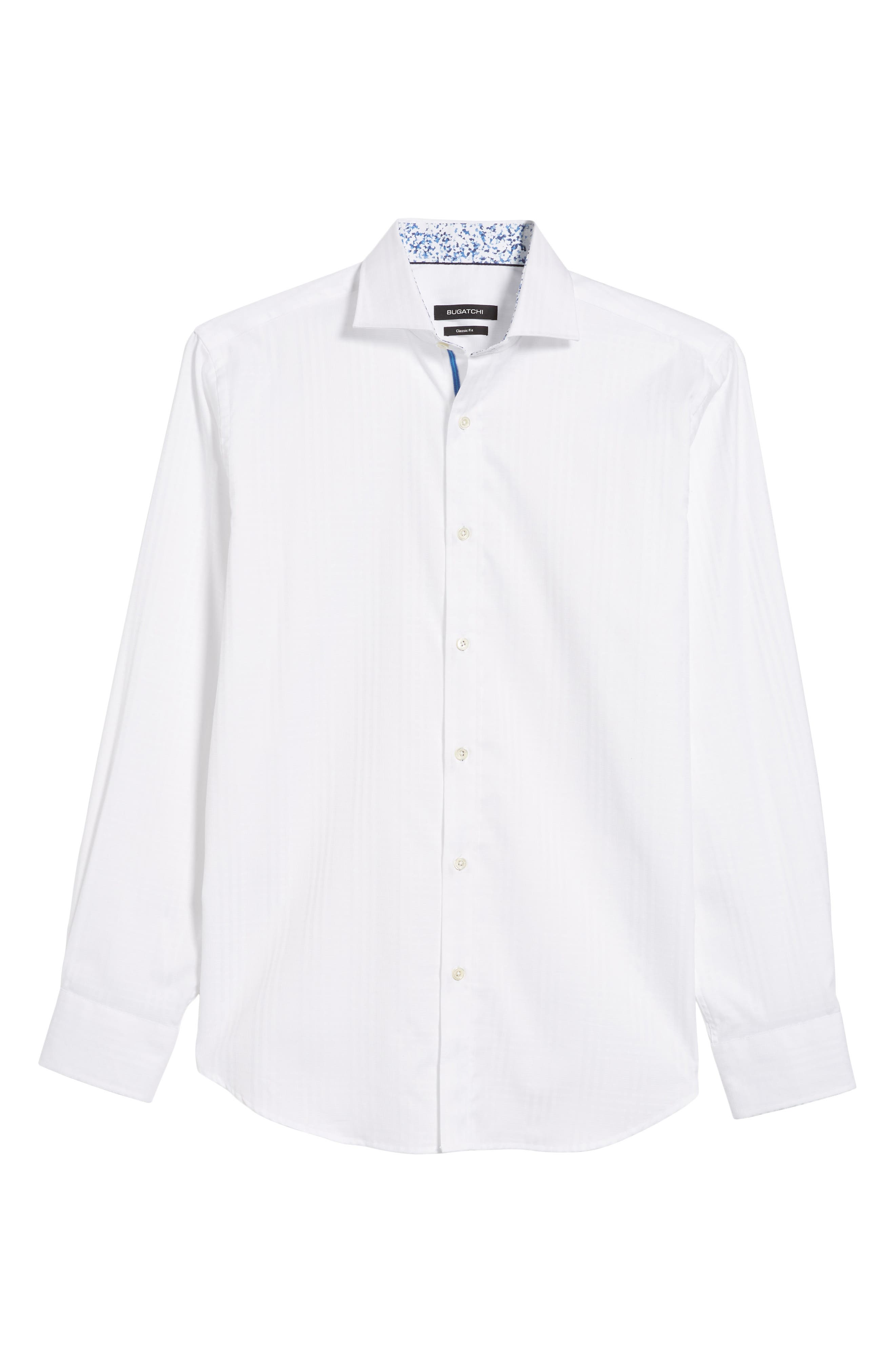 Classic Fit Sport Shirt,                             Alternate thumbnail 6, color,                             100