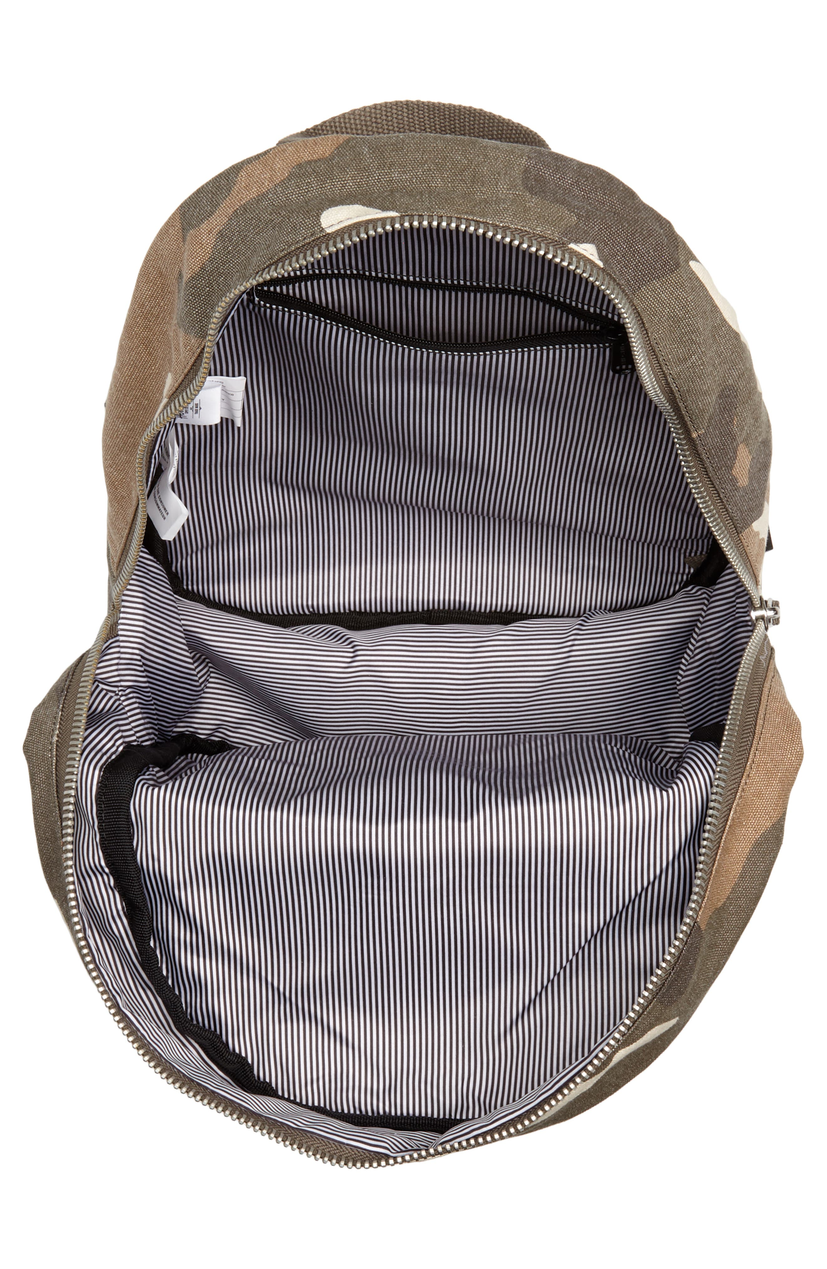 X-Small Grove Cotton Canvas Backpack,                             Alternate thumbnail 15, color,