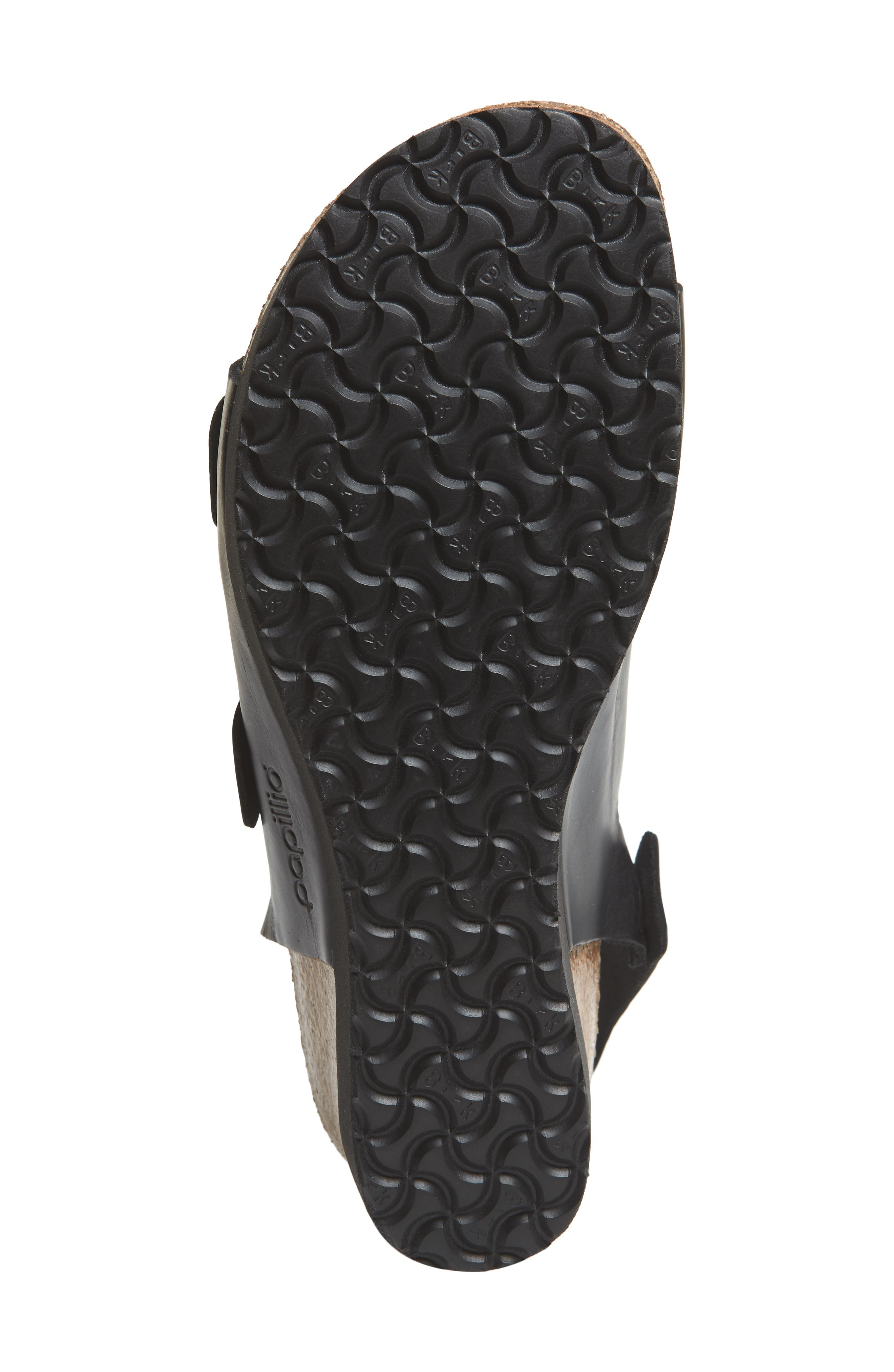Papillio by Birkenstock Linnea Platform Sandal,                             Alternate thumbnail 6, color,                             001