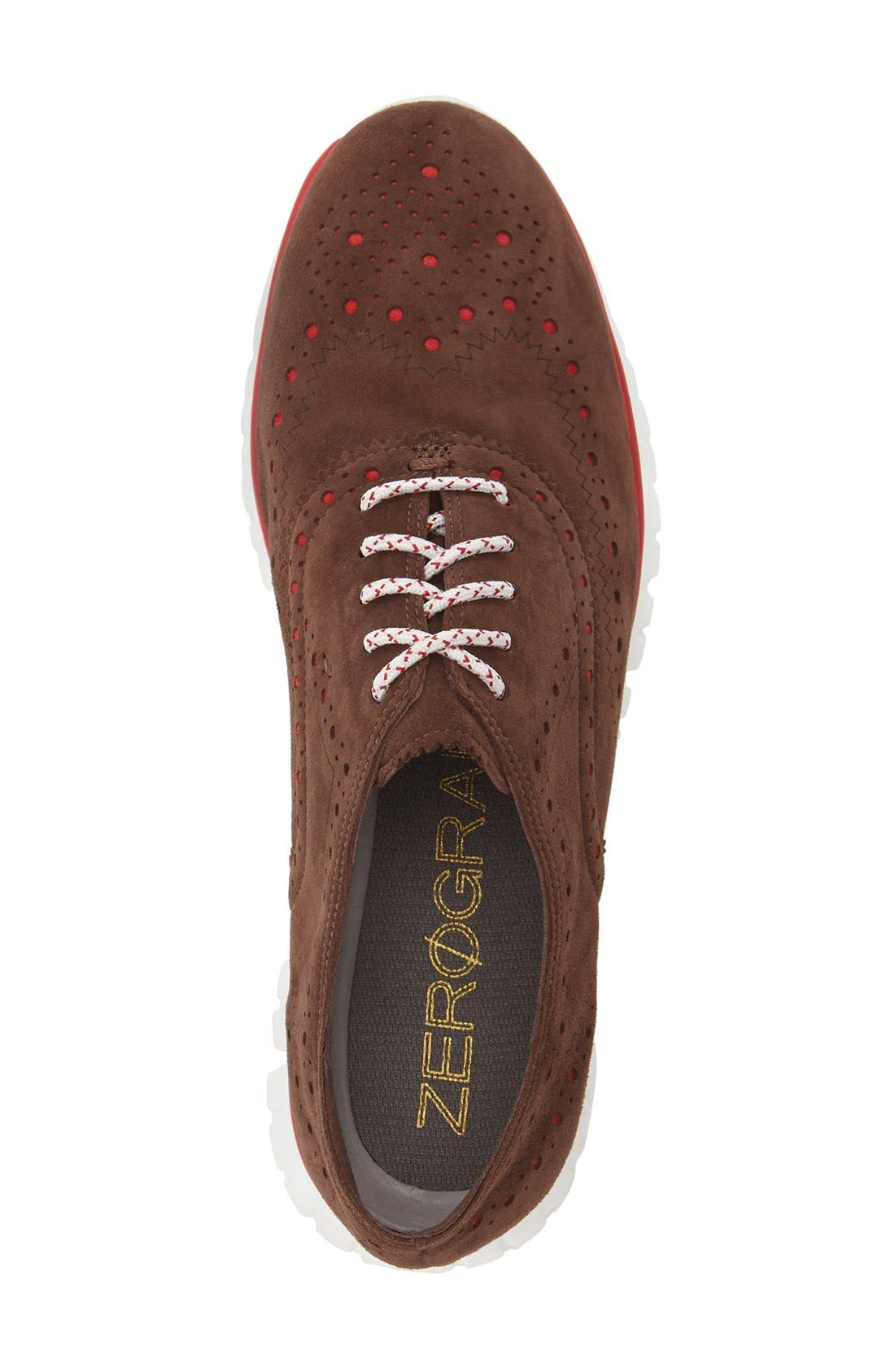 'ZeroGrand' Perforated Wingtip,                             Alternate thumbnail 74, color,