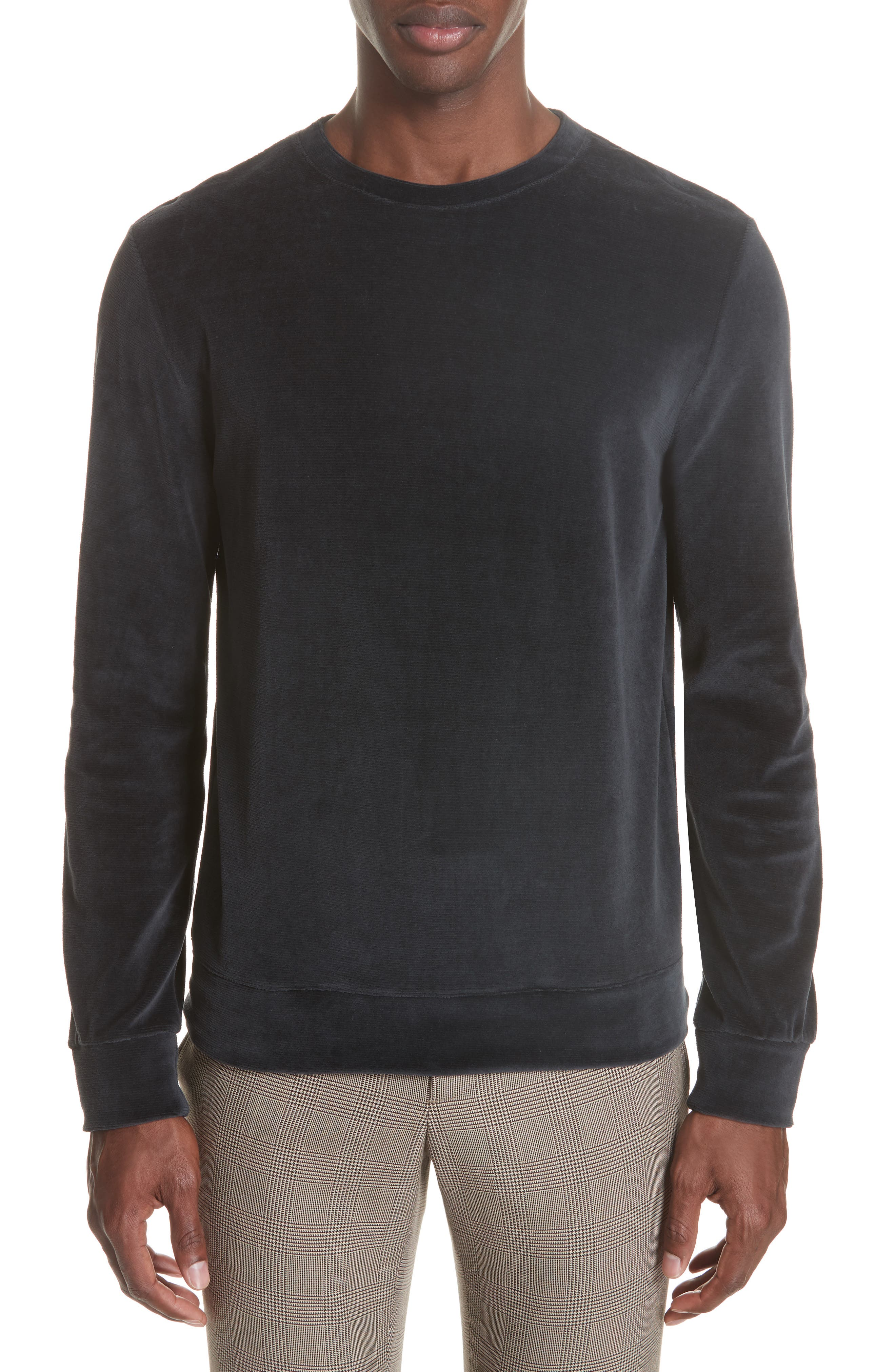 Jerome Velour Sweater,                         Main,                         color, 410