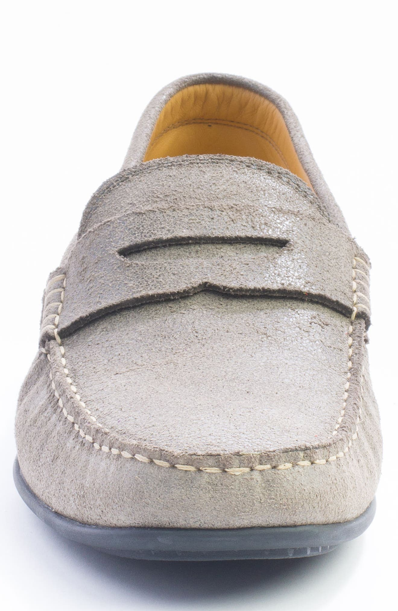Barretts Penny Loafer,                             Alternate thumbnail 4, color,                             GREY