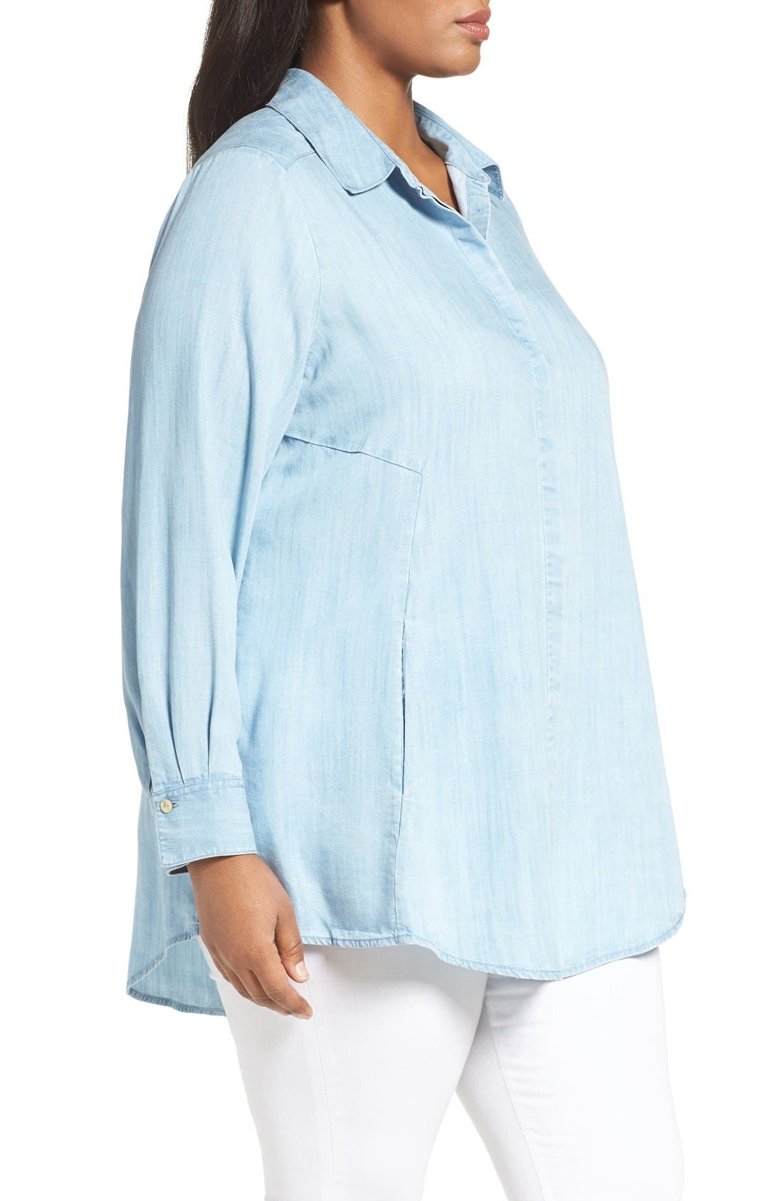 Chambray Tunic,                             Alternate thumbnail 23, color,