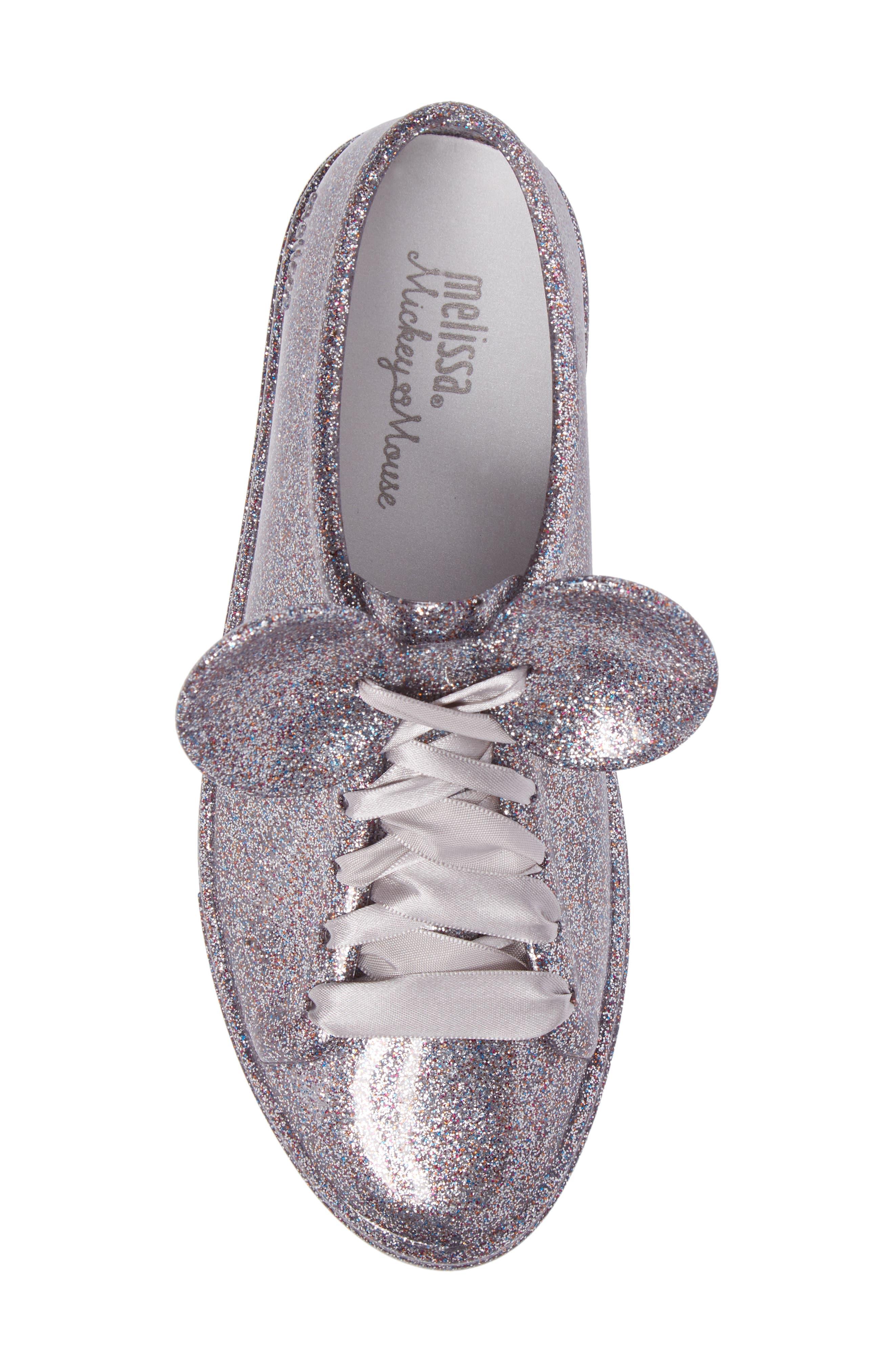 Be Disney Mouse Ear Sneaker,                             Alternate thumbnail 5, color,                             049
