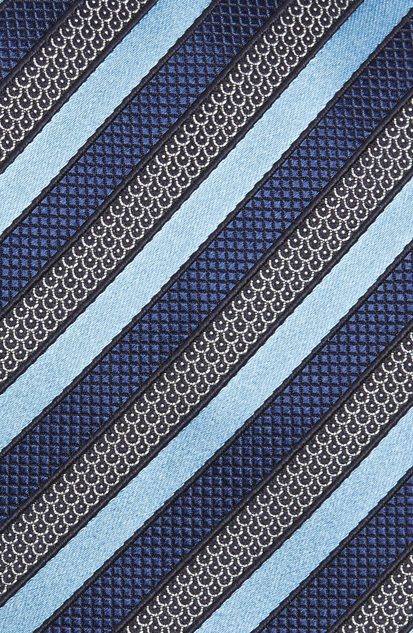 Stripe Silk Tie,                             Alternate thumbnail 2, color,                             424