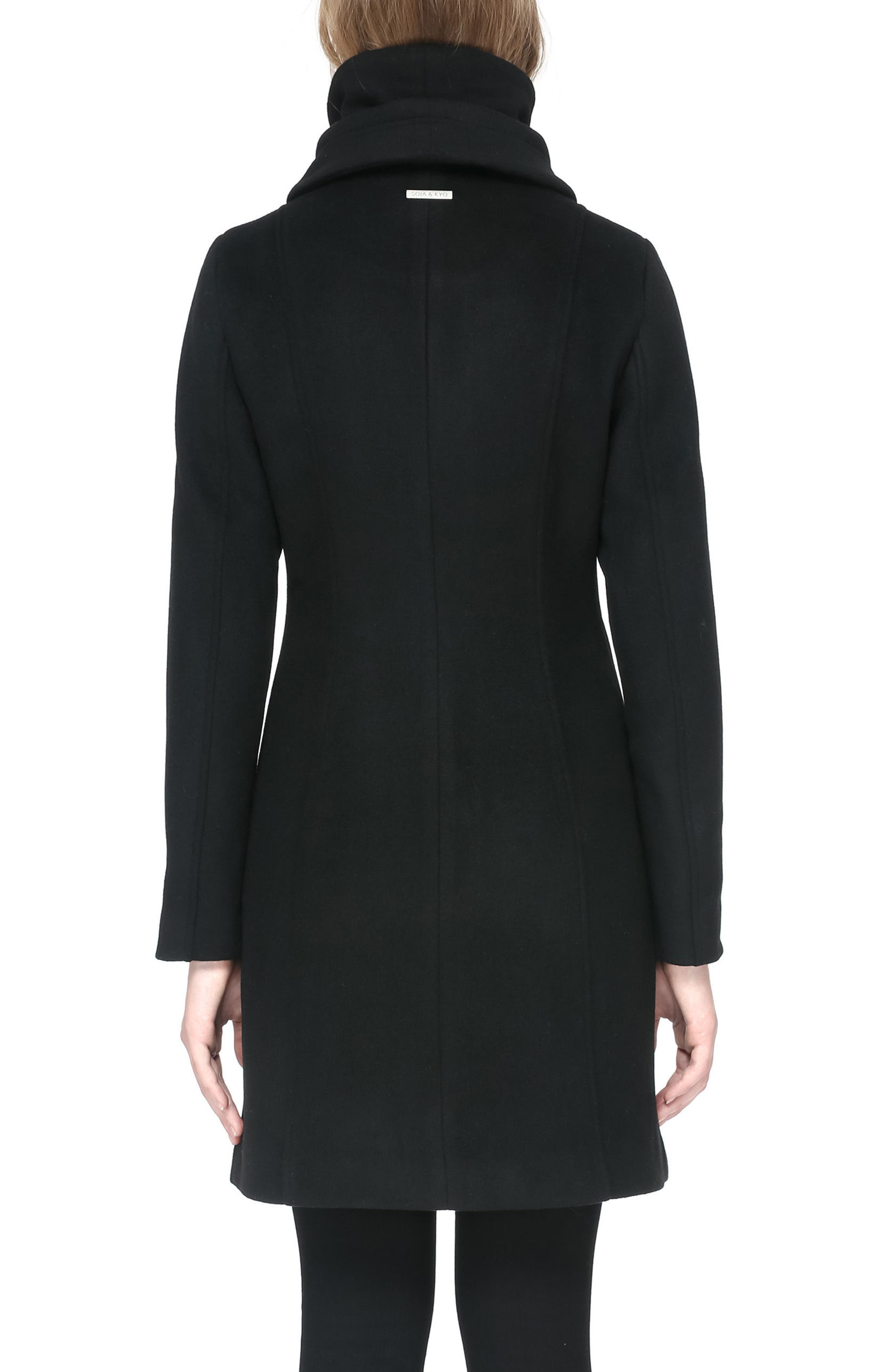 Hooded Trench,                             Alternate thumbnail 2, color,                             001