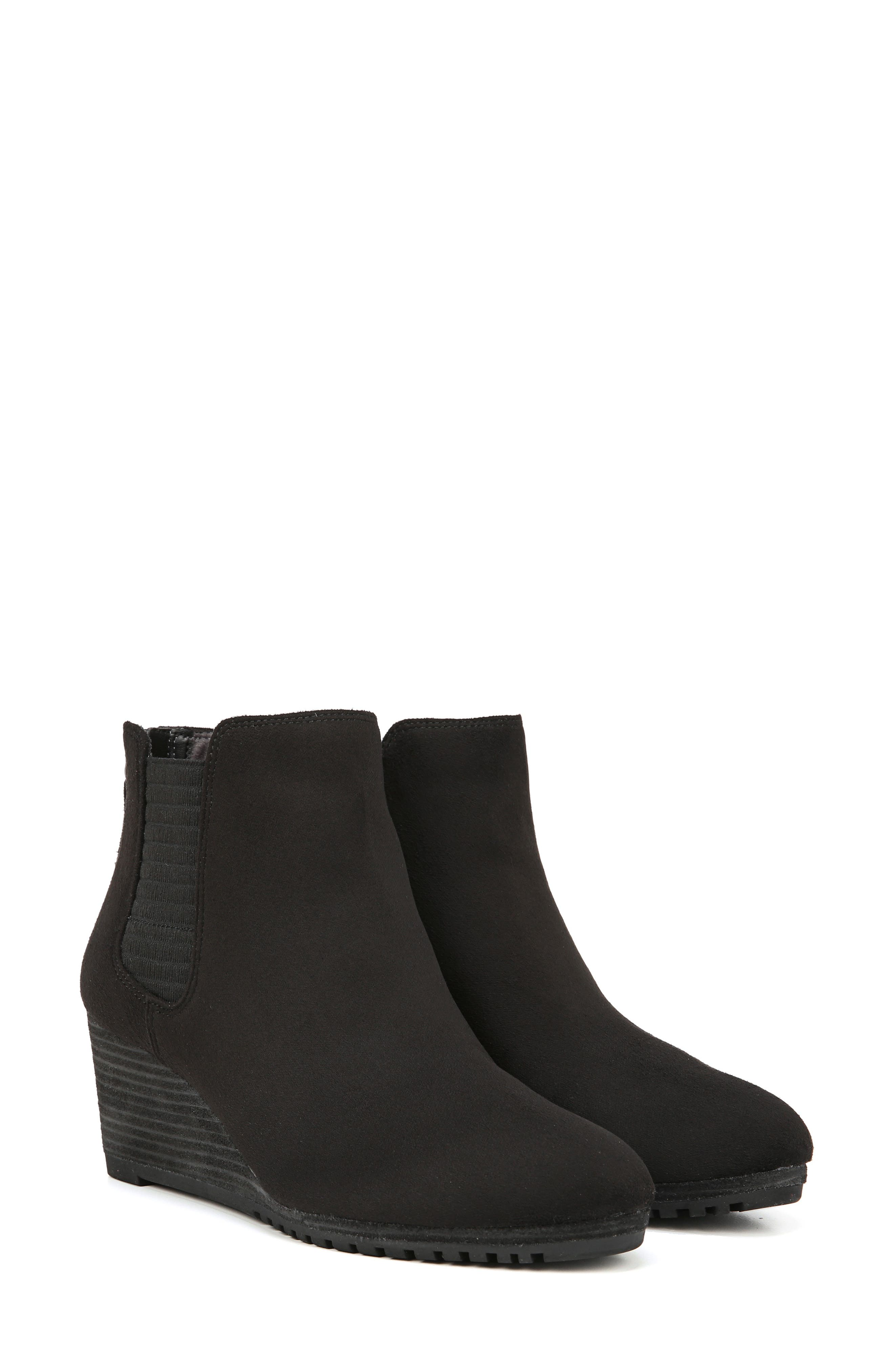 Critic Wedge Chelsea Bootie,                             Alternate thumbnail 8, color,                             001