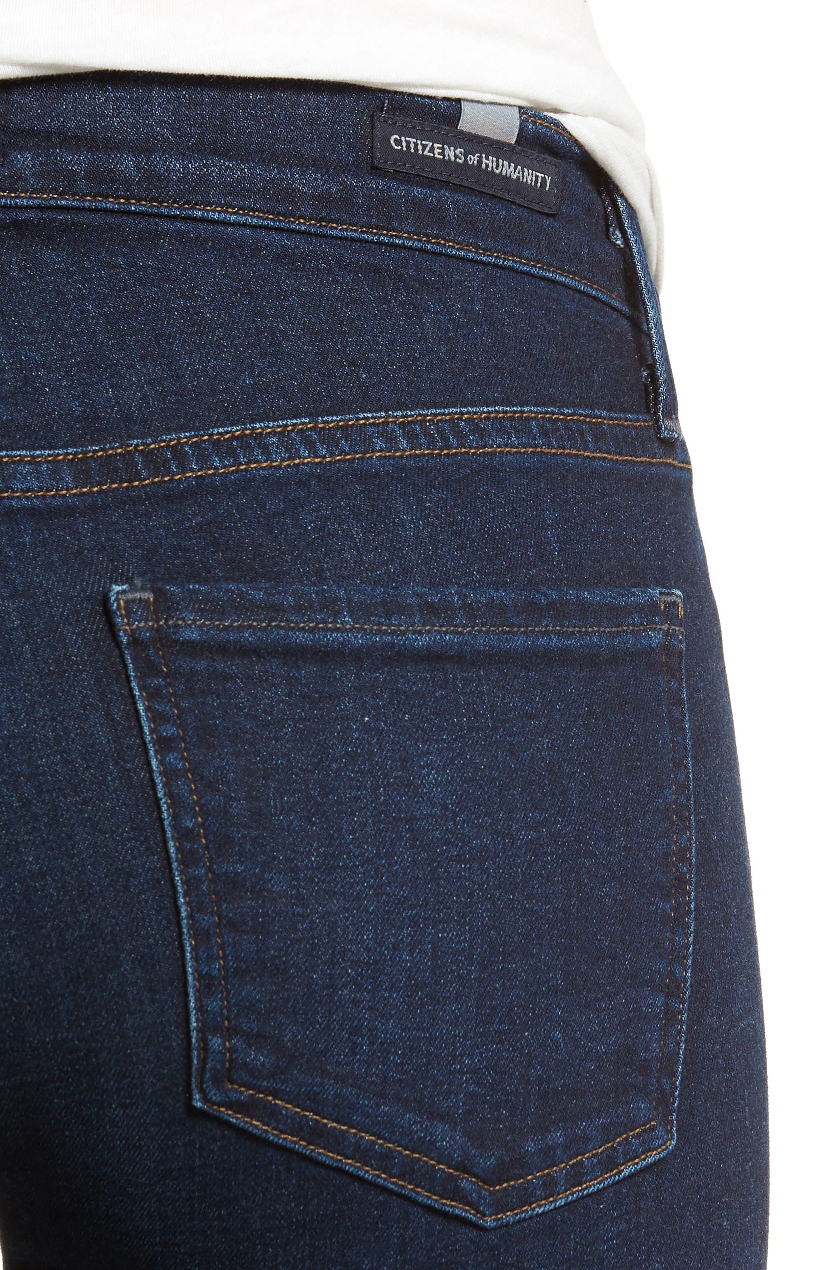 Emannuelle Bootcut Jeans,                             Alternate thumbnail 4, color,                             GALAXY