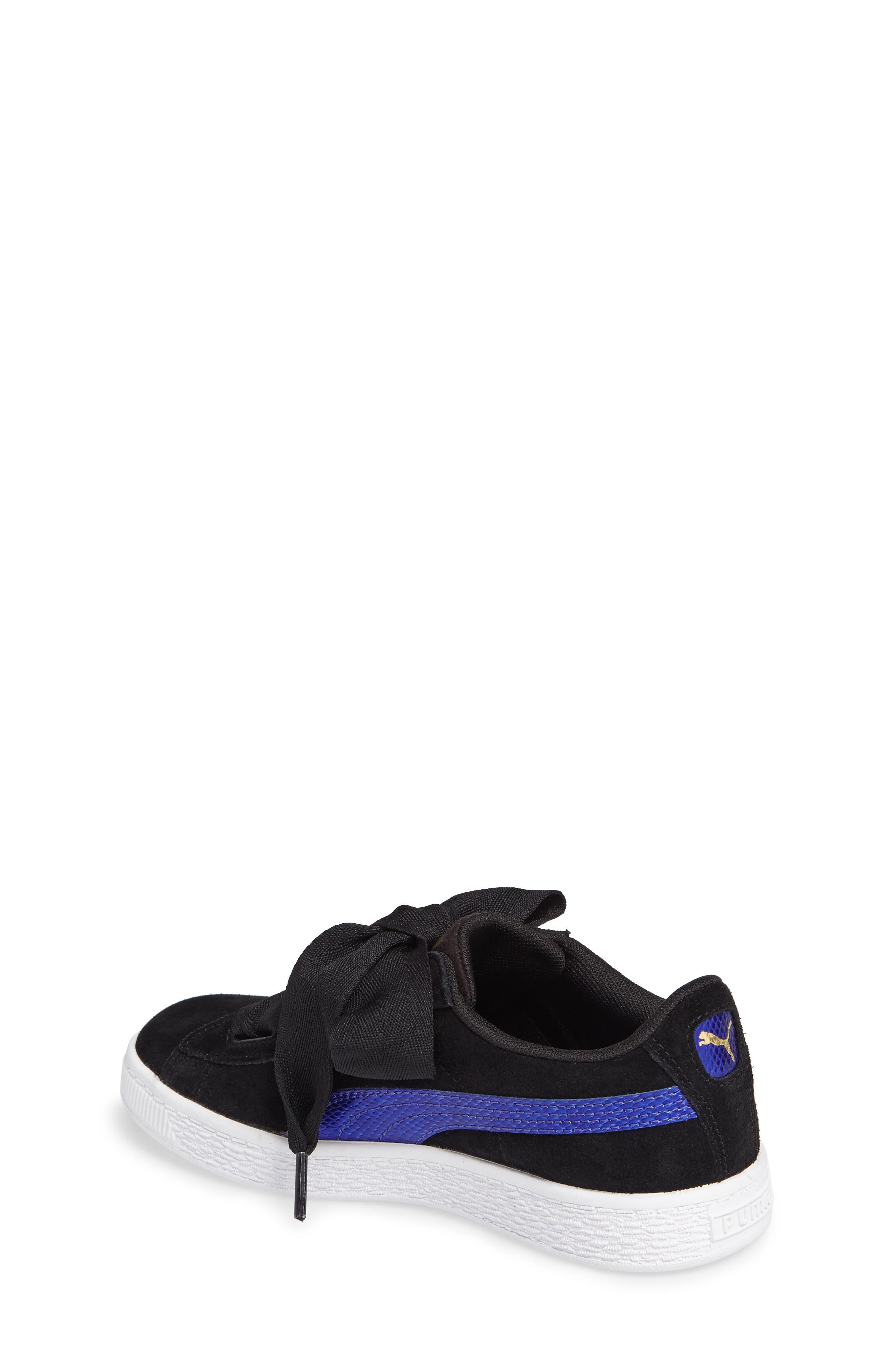 Basket Heart Sneaker,                             Alternate thumbnail 4, color,