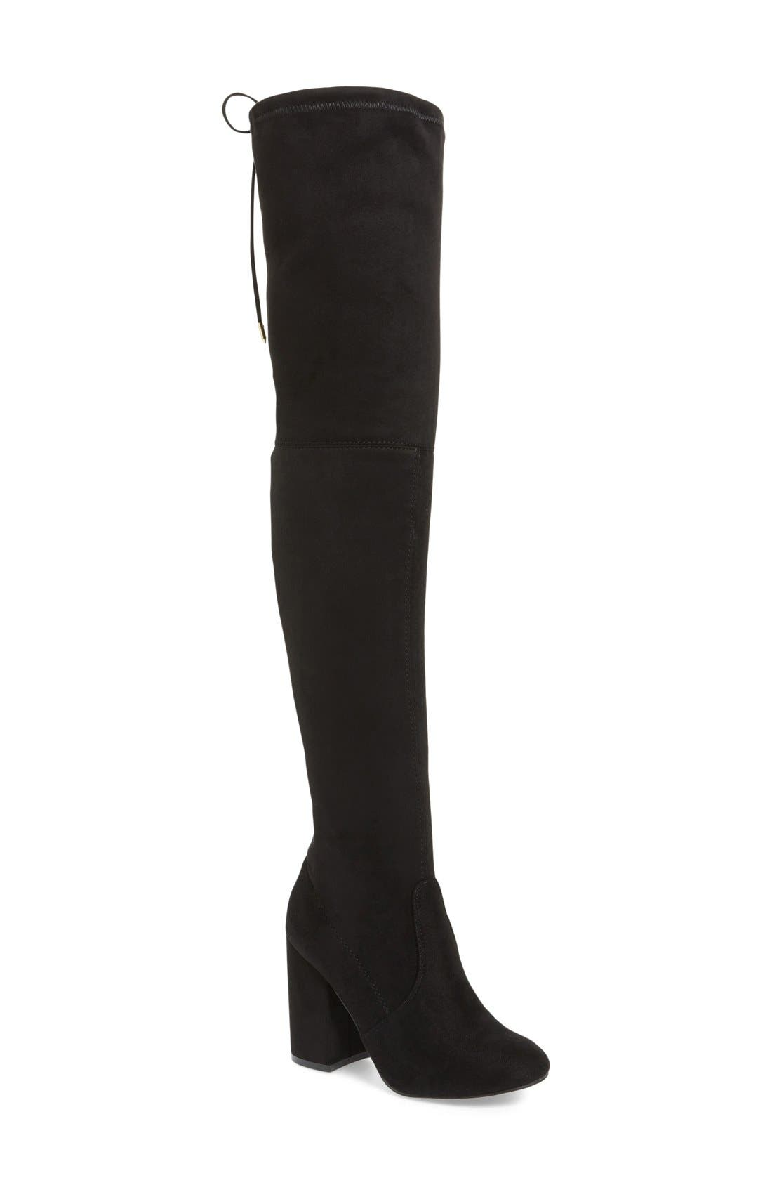 Norri Over the Knee Boot,                             Main thumbnail 1, color,                             019
