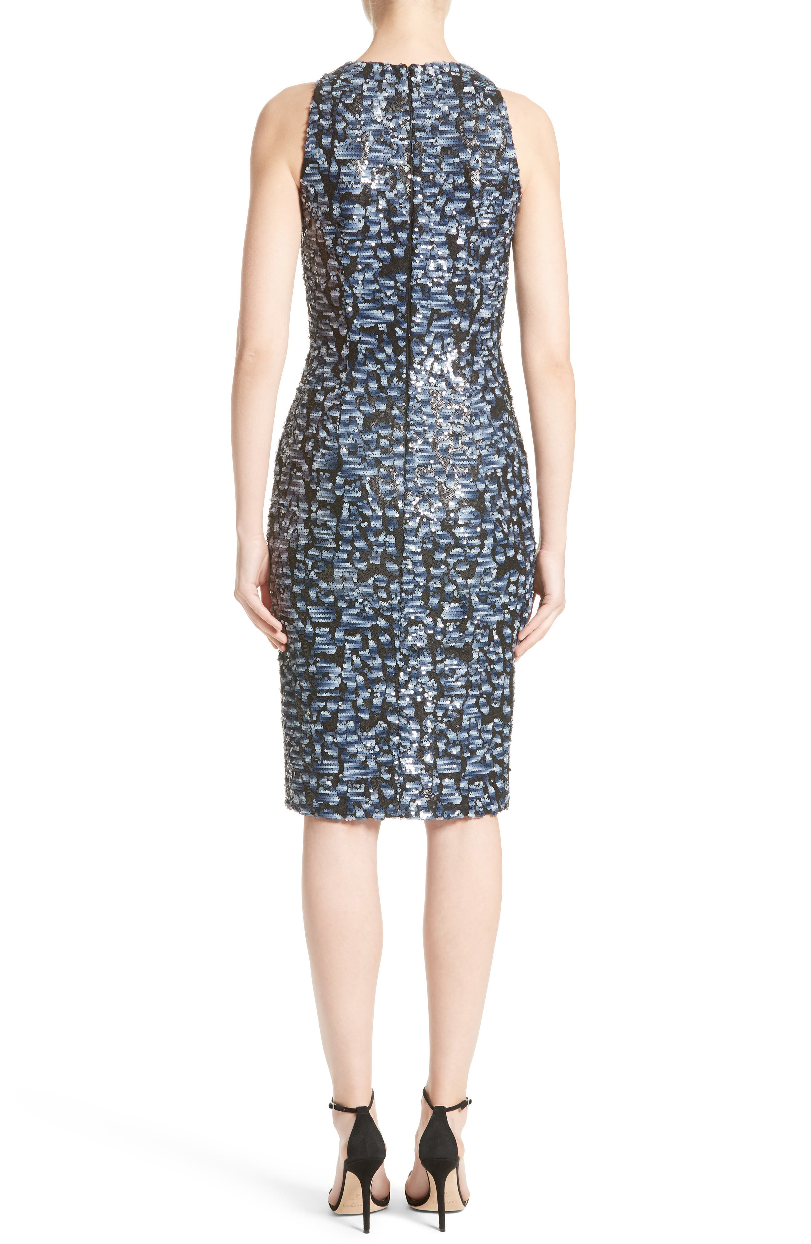 Sequin Sheath Dress,                             Alternate thumbnail 2, color,                             400