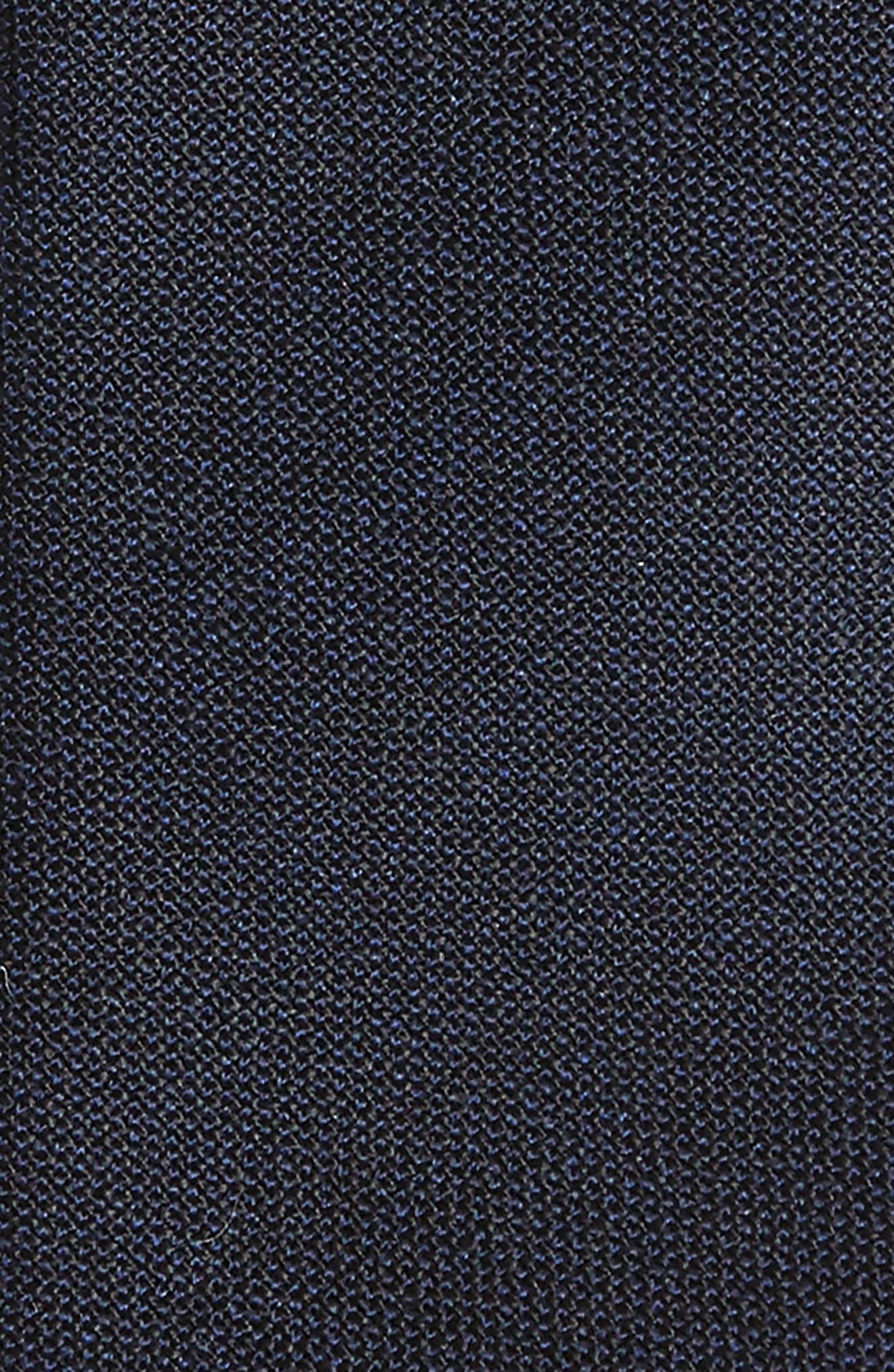 Jaspé Wool Skinny Tie,                             Alternate thumbnail 8, color,
