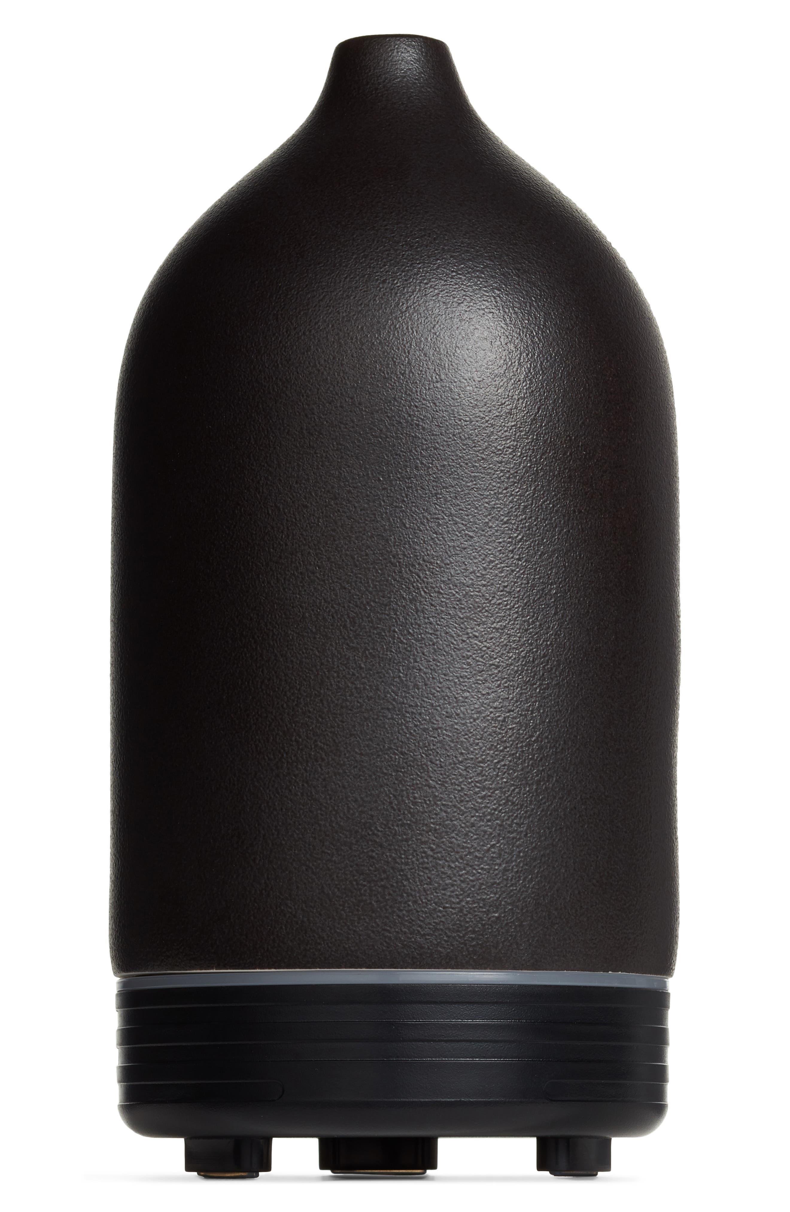 Ceramic Diffuser,                             Main thumbnail 1, color,                             BLACK CERAMIC