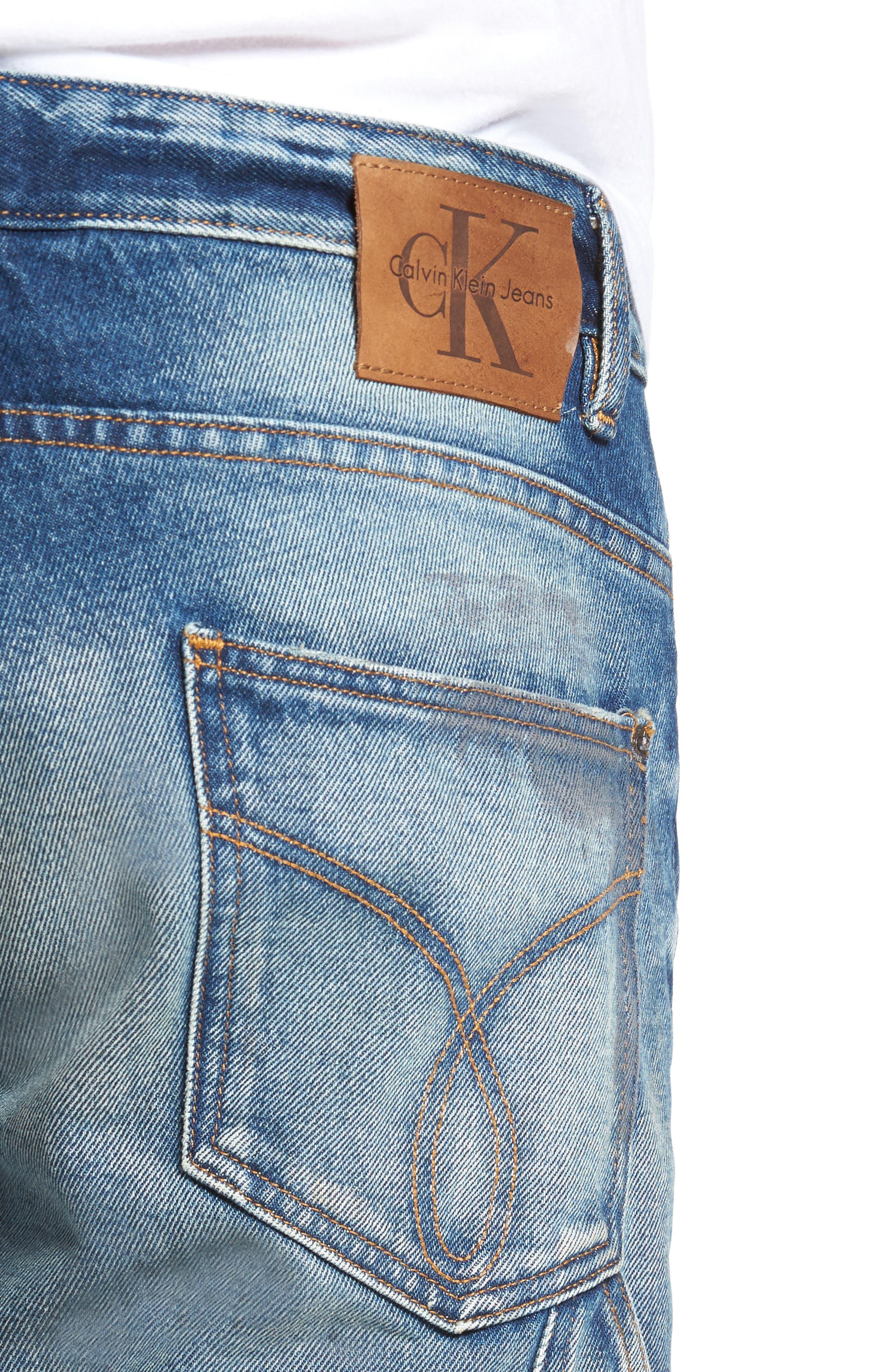 Carpenter Slim Fit Jeans,                             Alternate thumbnail 4, color,                             492