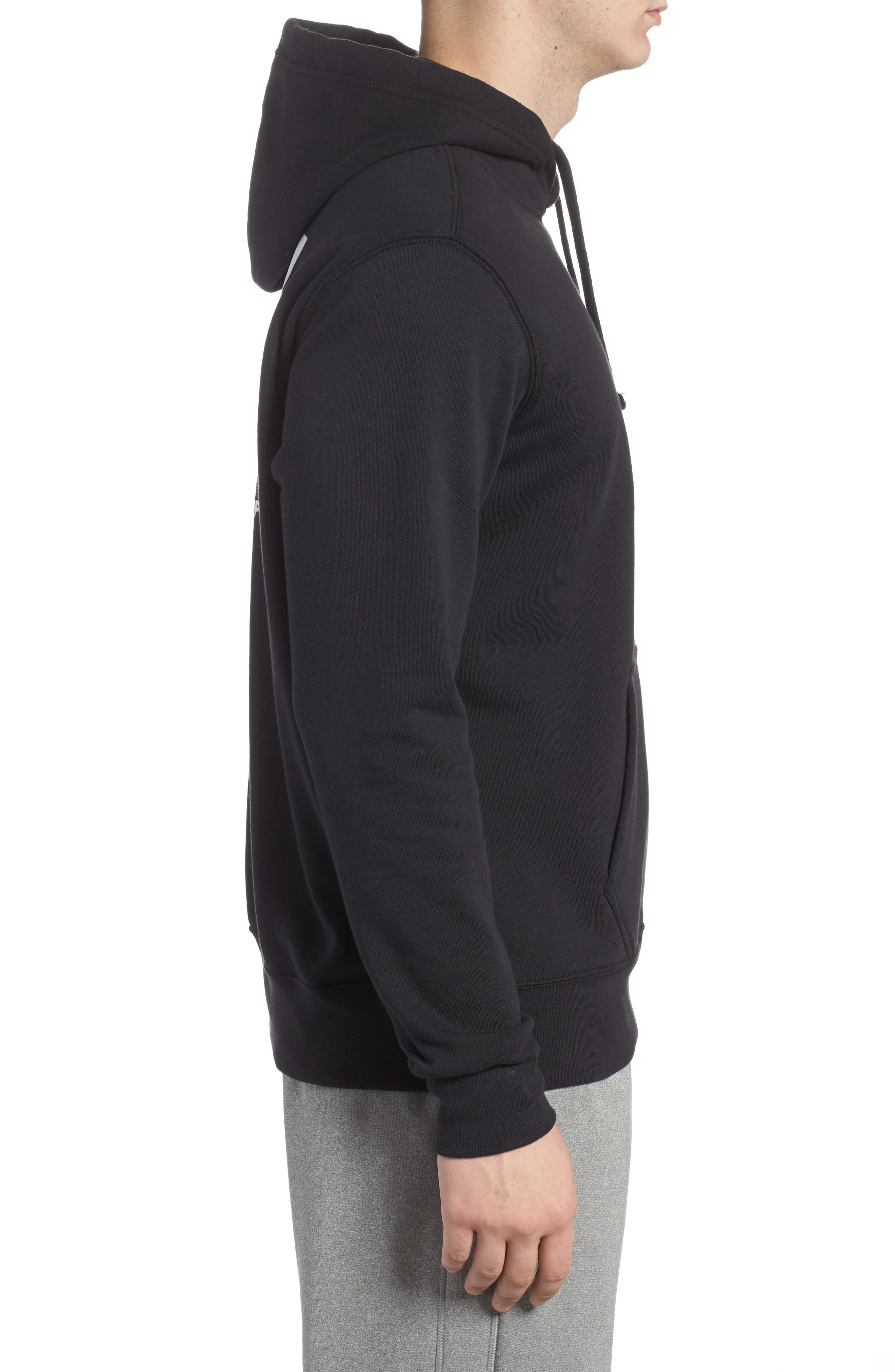 Red Box Hoodie,                             Alternate thumbnail 3, color,                             001