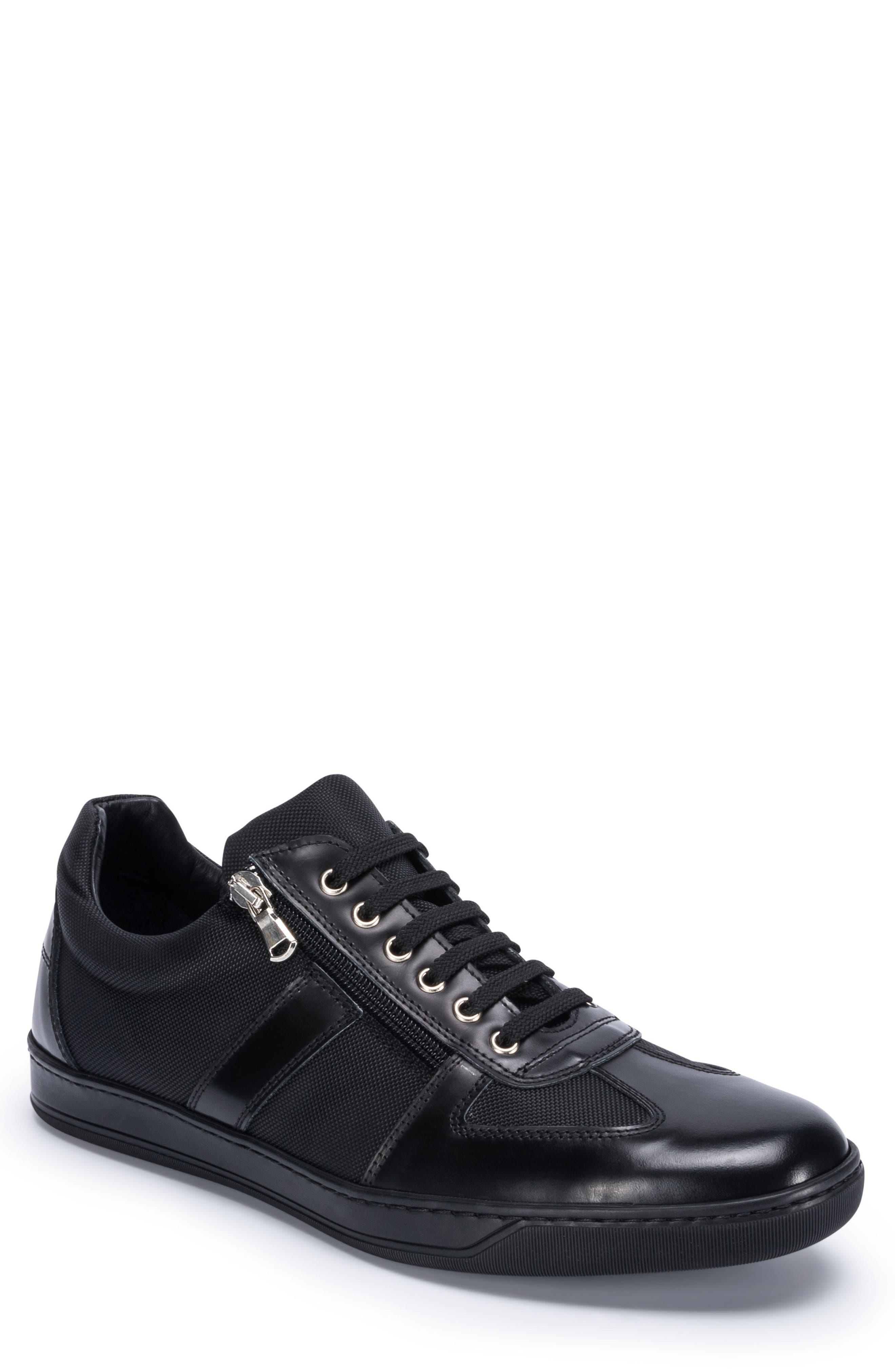 Paris Sneaker,                         Main,                         color, BLACK