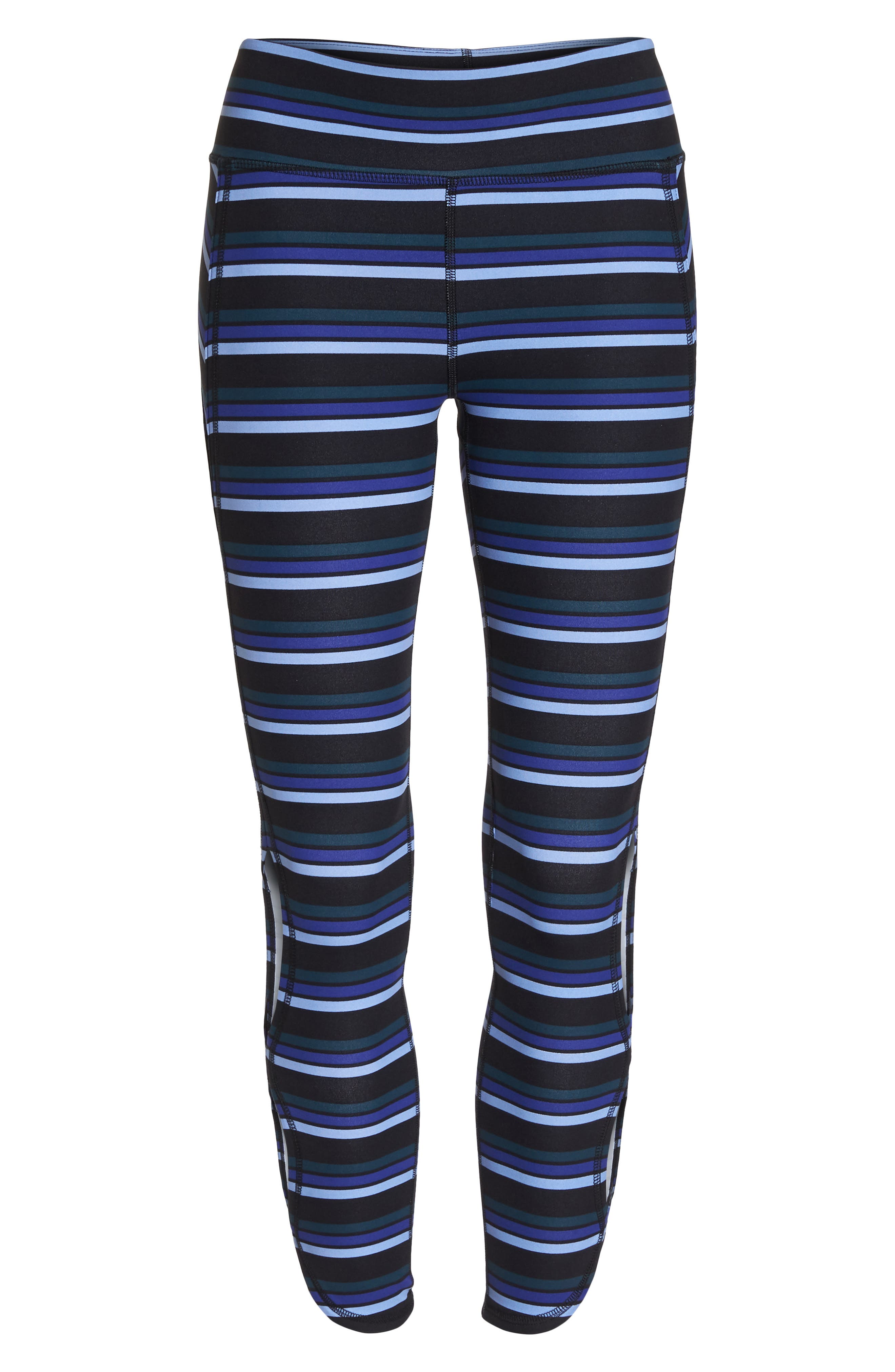FREE PEOPLE MOVEMENT,                             Stripe Infinity Leggings,                             Alternate thumbnail 7, color,                             001