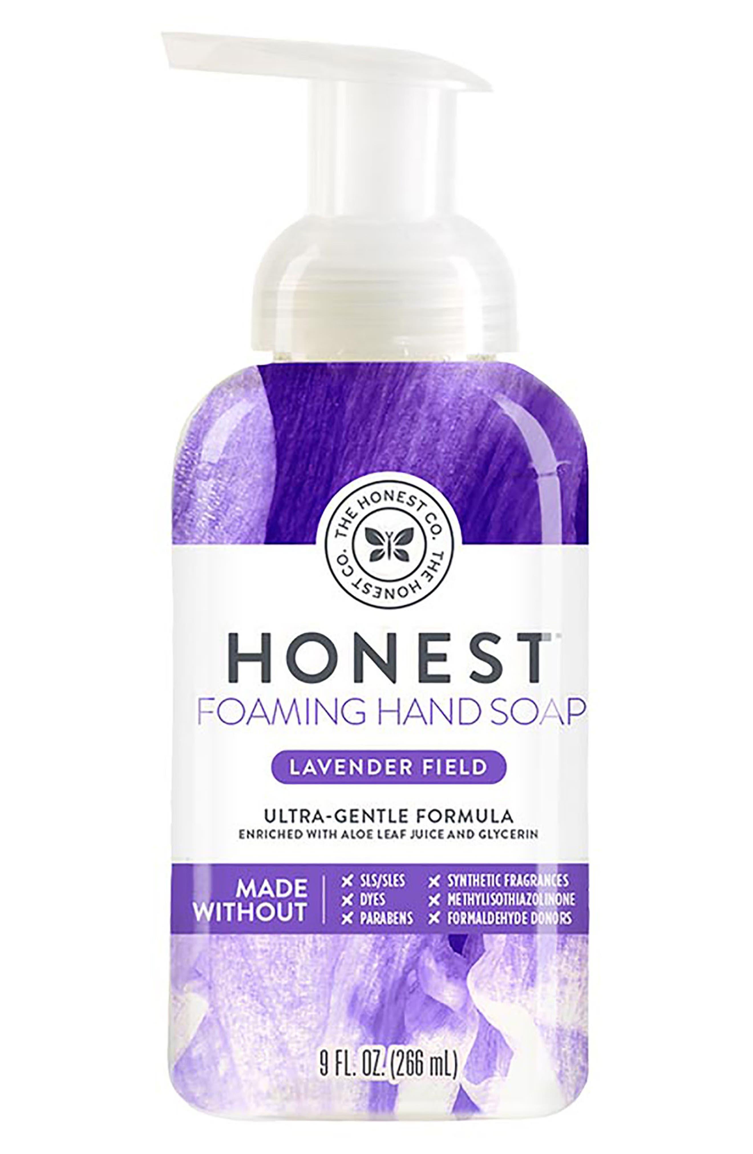 Lavender Field Foaming Hand Soap,                             Main thumbnail 1, color,                             LAVENDER FIELD