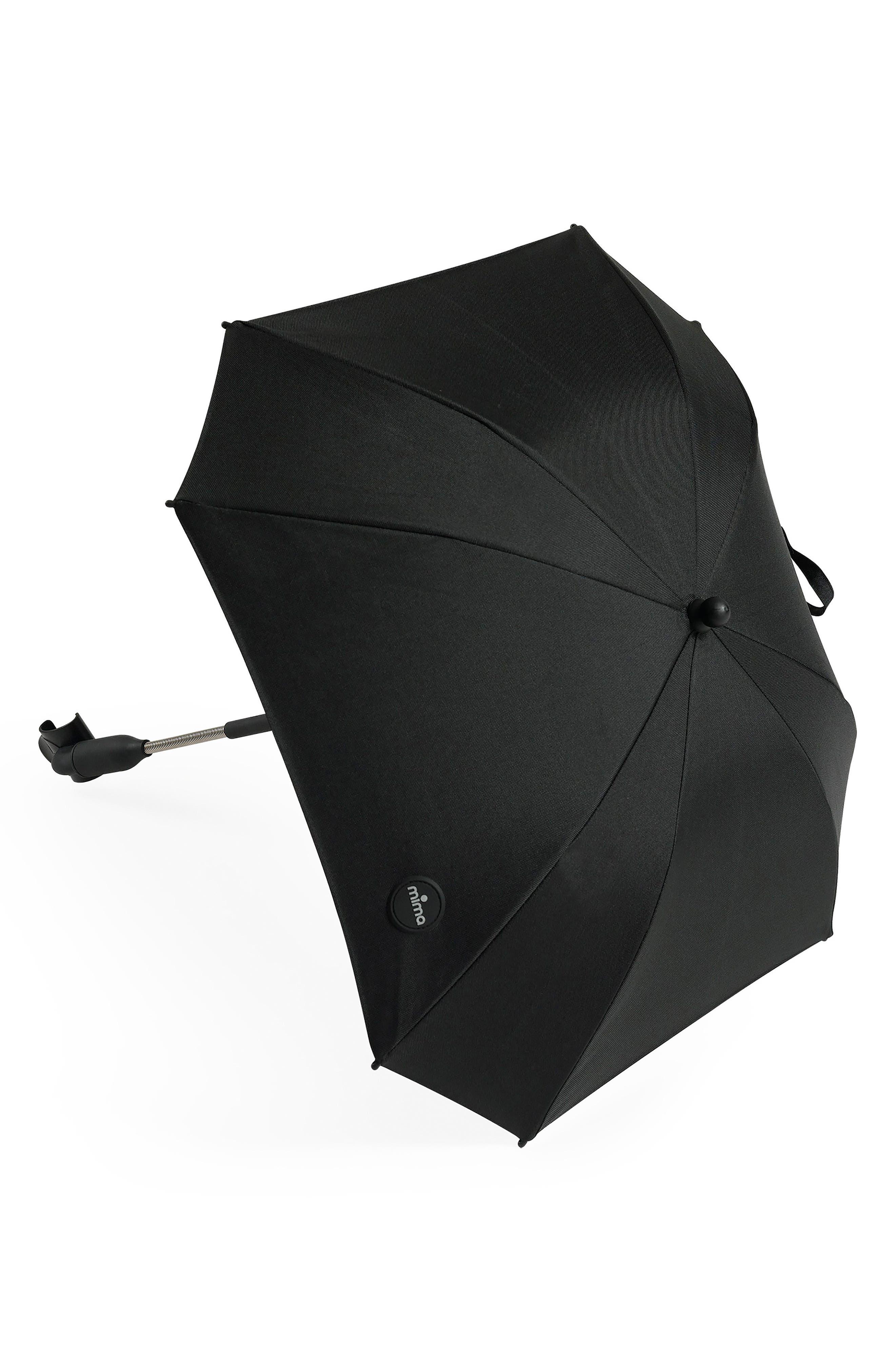 Stroller Umbrella,                         Main,                         color, BLACK