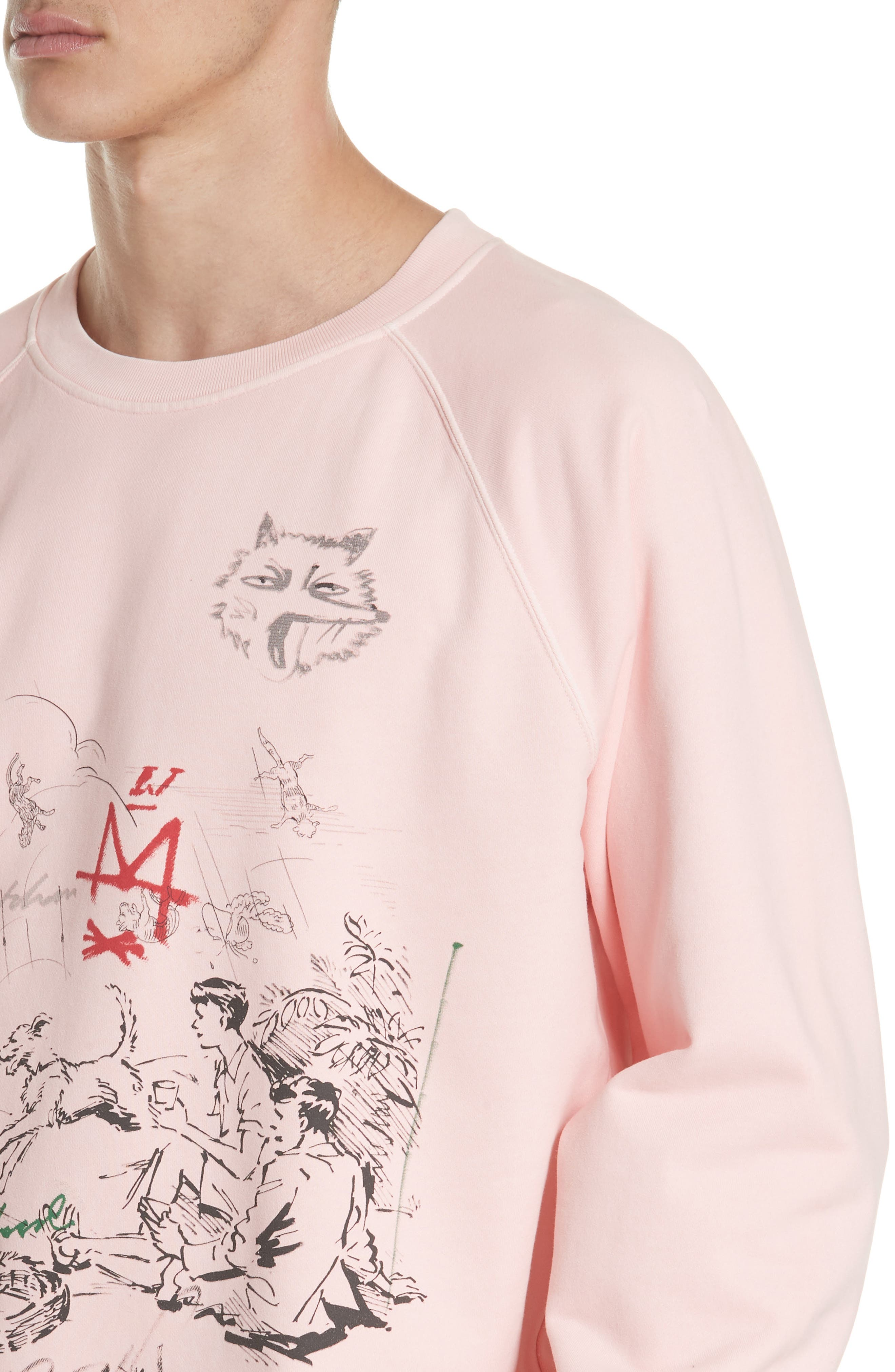 Fellworth Graphic Crewneck Sweatshirt,                             Alternate thumbnail 4, color,                             685