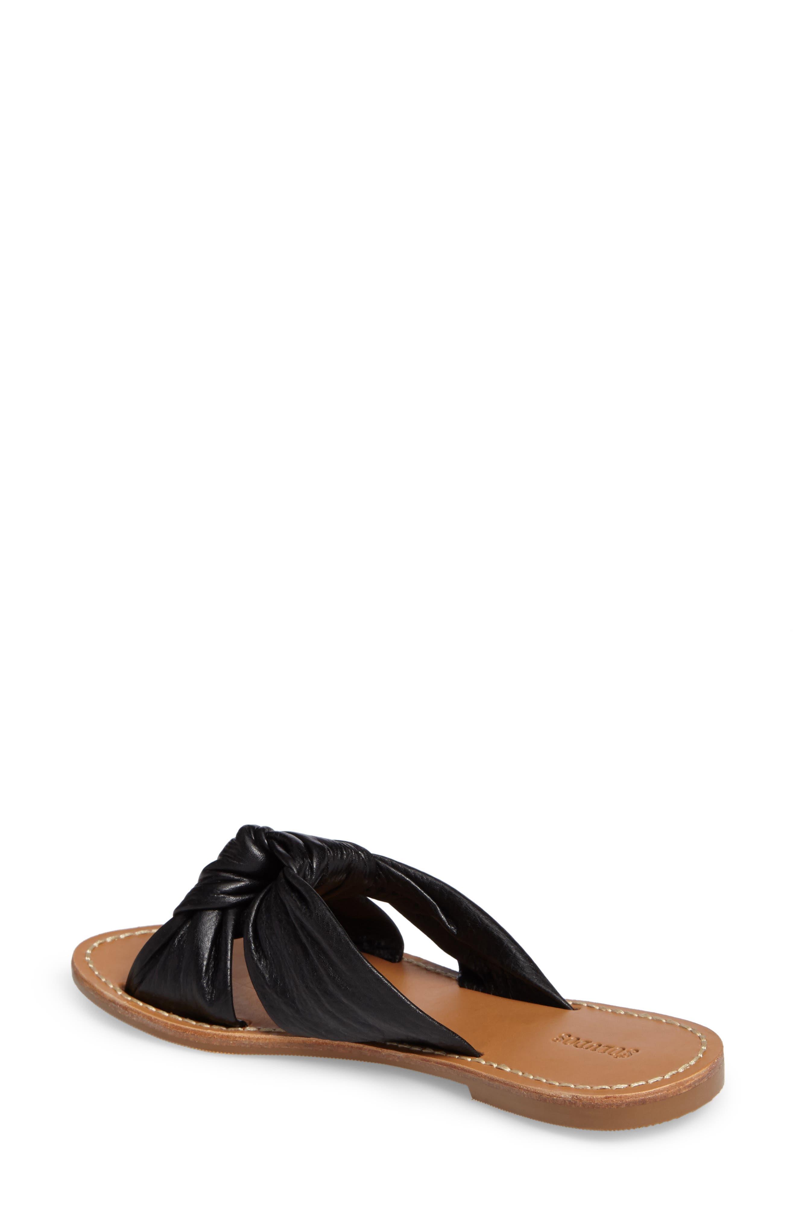 Knotted Slide Sandal,                             Alternate thumbnail 2, color,                             001