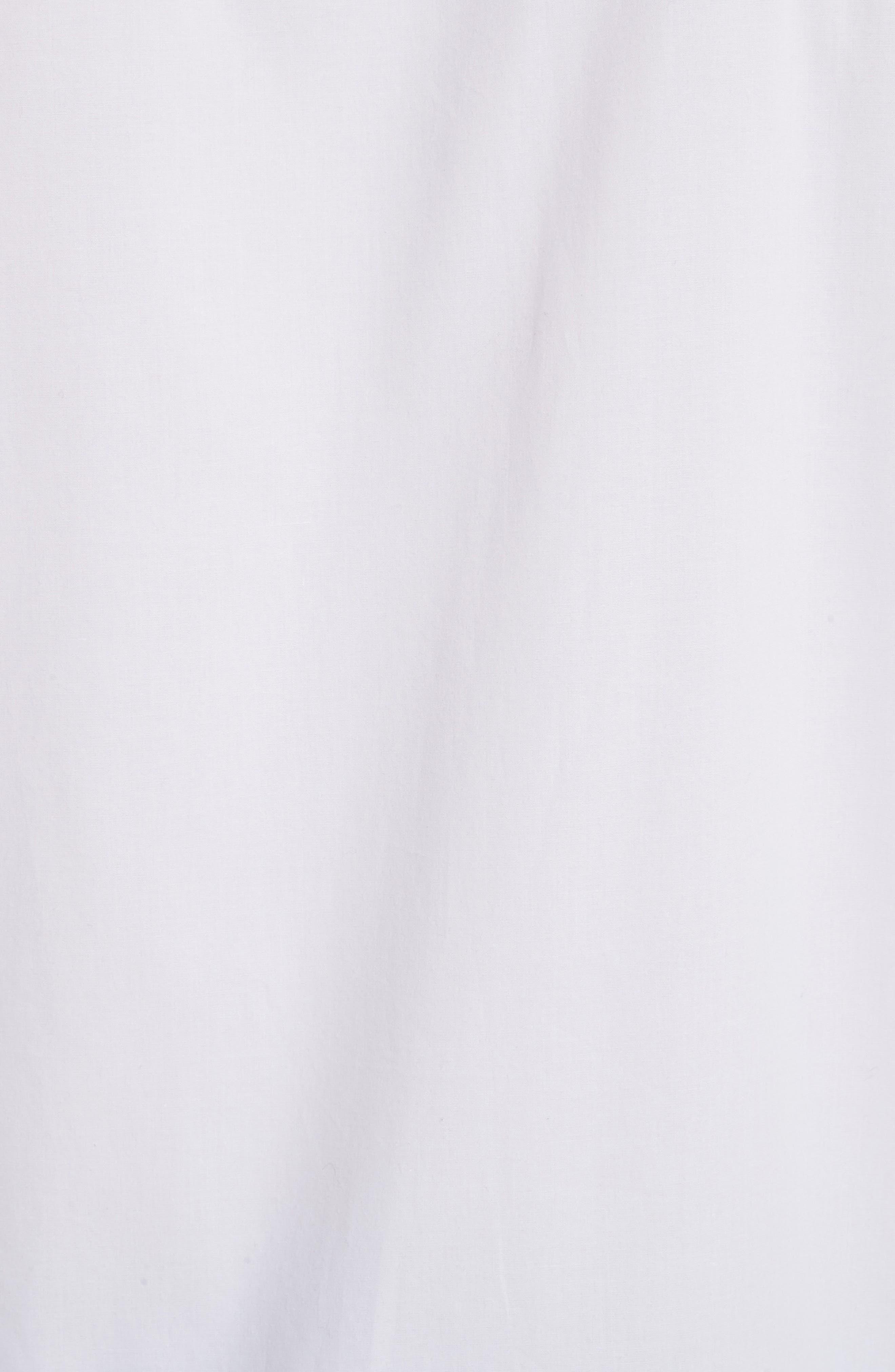 Short Sleeve Military Shirt,                             Alternate thumbnail 5, color,                             100
