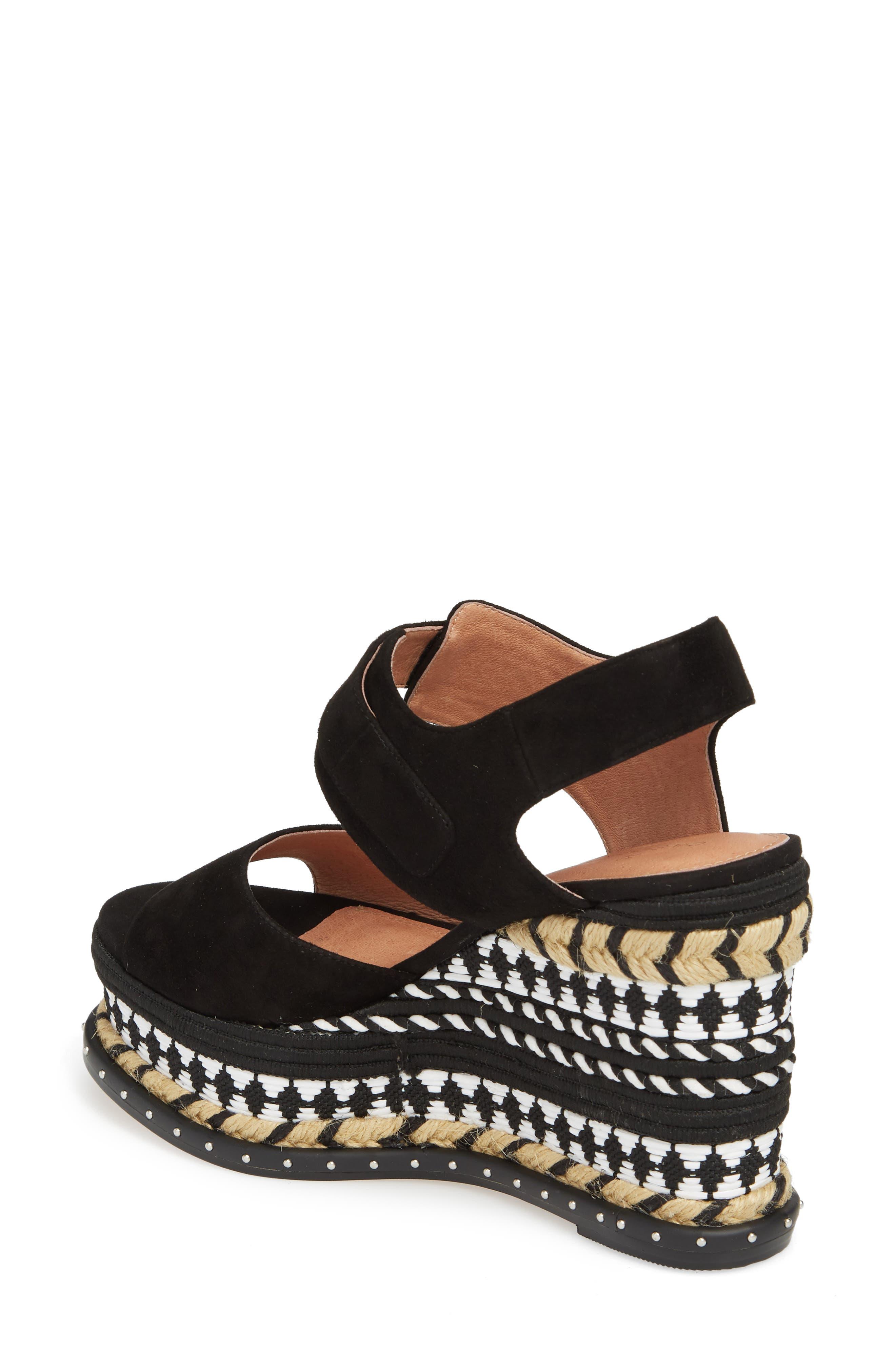 Braxton Platform Wedge Sandal,                             Alternate thumbnail 2, color,                             001