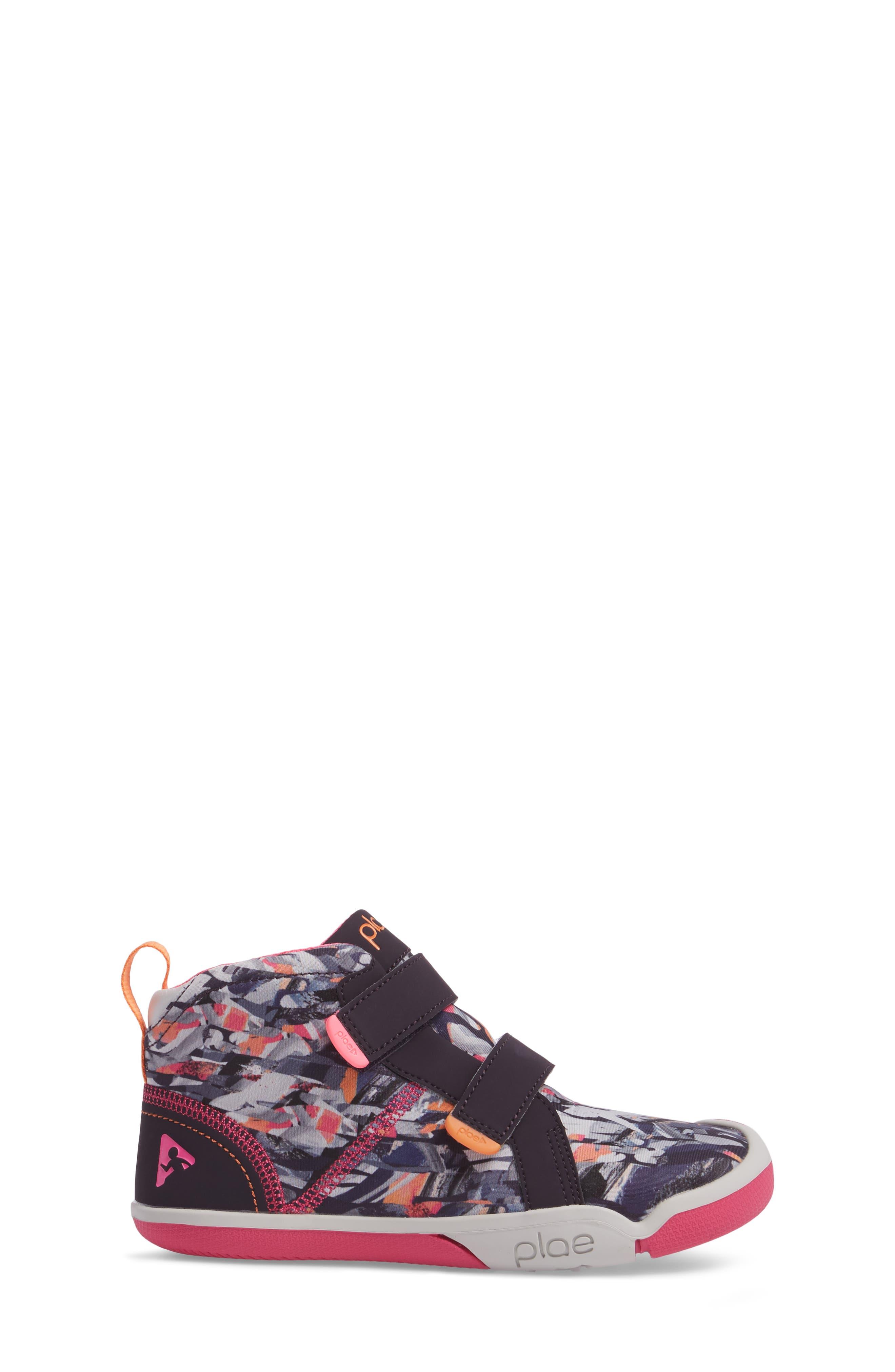 Max Customizable Mid Top Sneaker,                             Alternate thumbnail 3, color,                             503