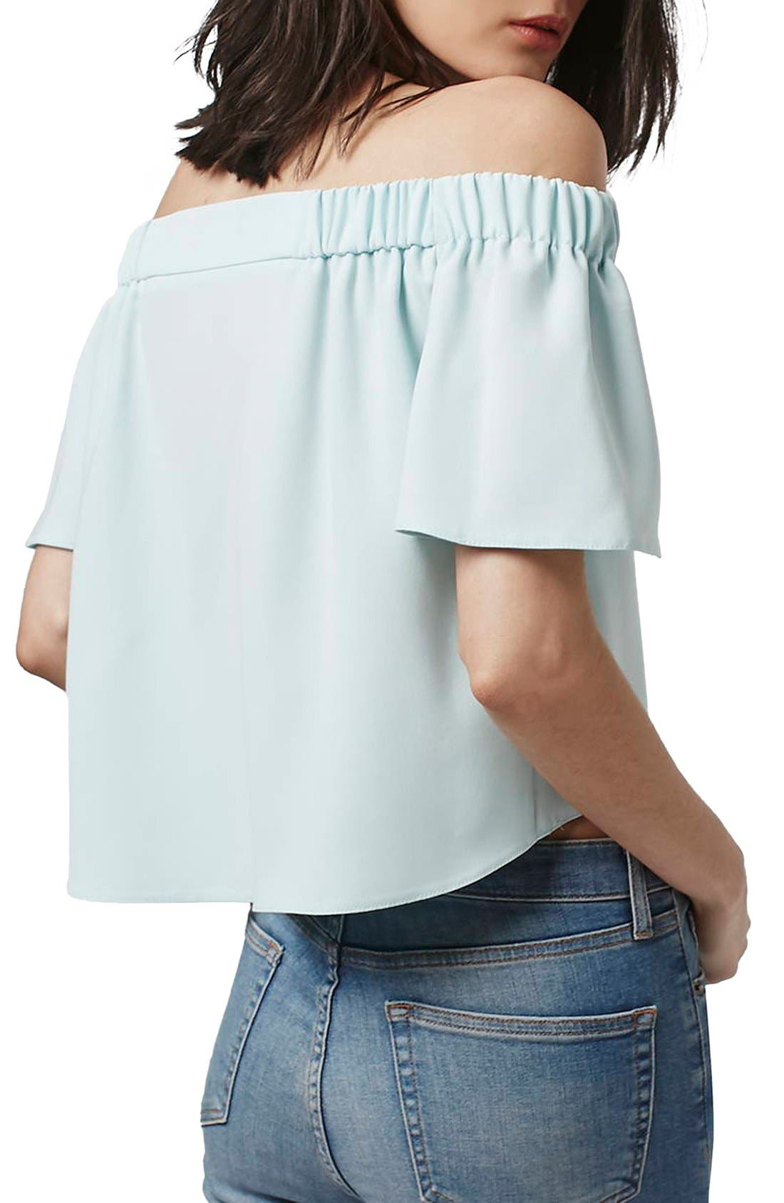 'Livi' Off the Shoulder Top,                             Alternate thumbnail 18, color,