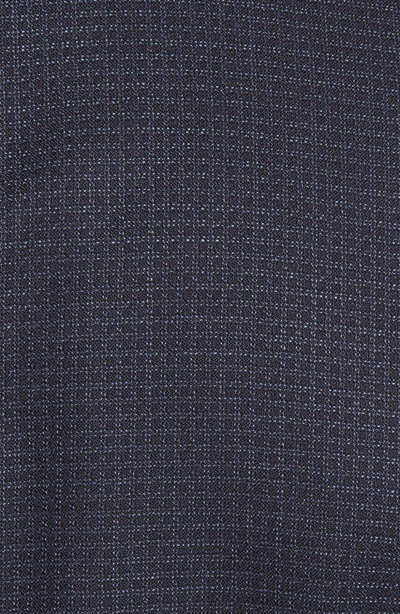 Johnstons/Lenon Classic Fit Check Wool Suit,                             Alternate thumbnail 7, color,                             409