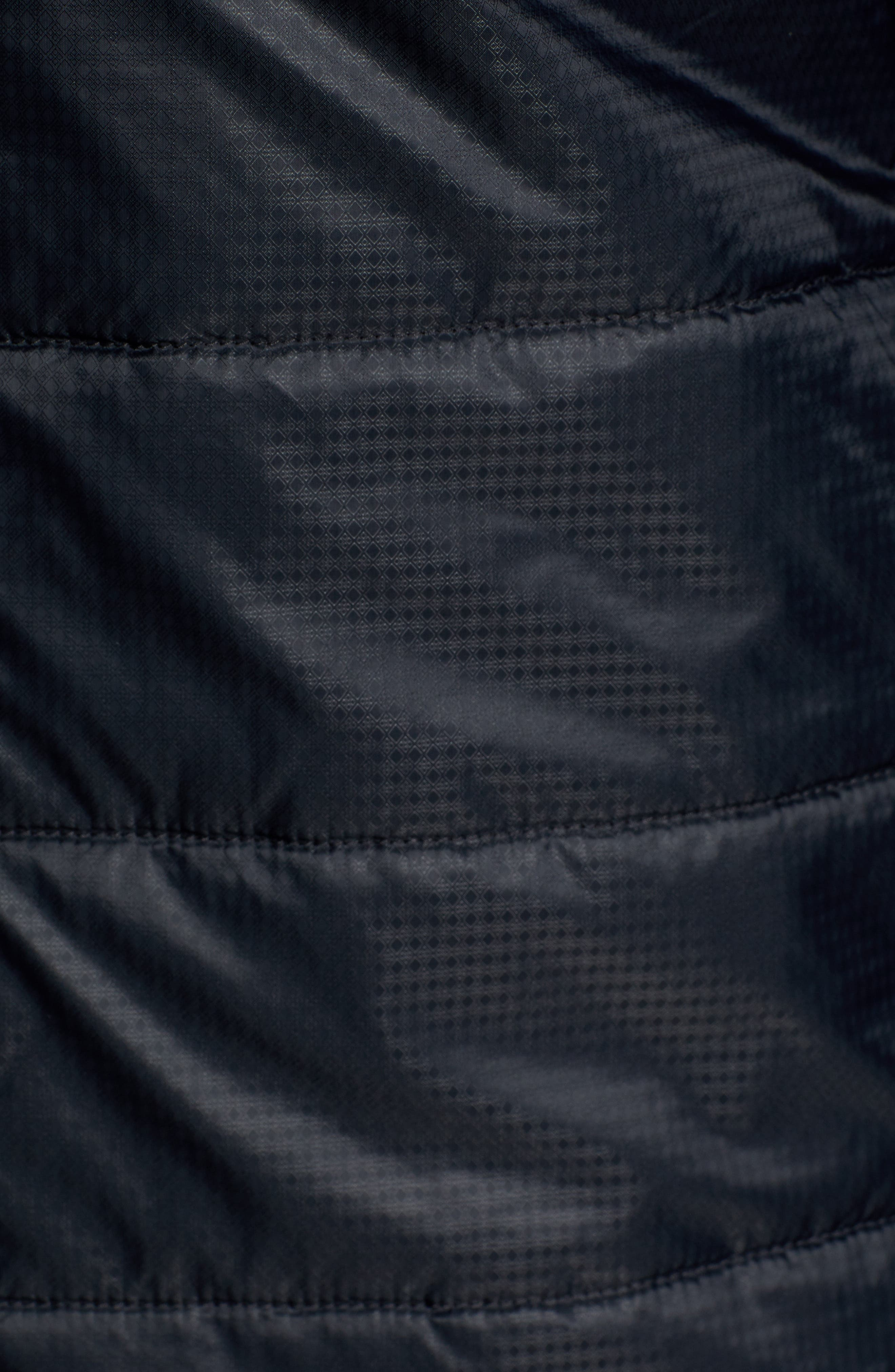SmartLoft 60 Shirt Jacket,                             Alternate thumbnail 6, color,                             BLACK