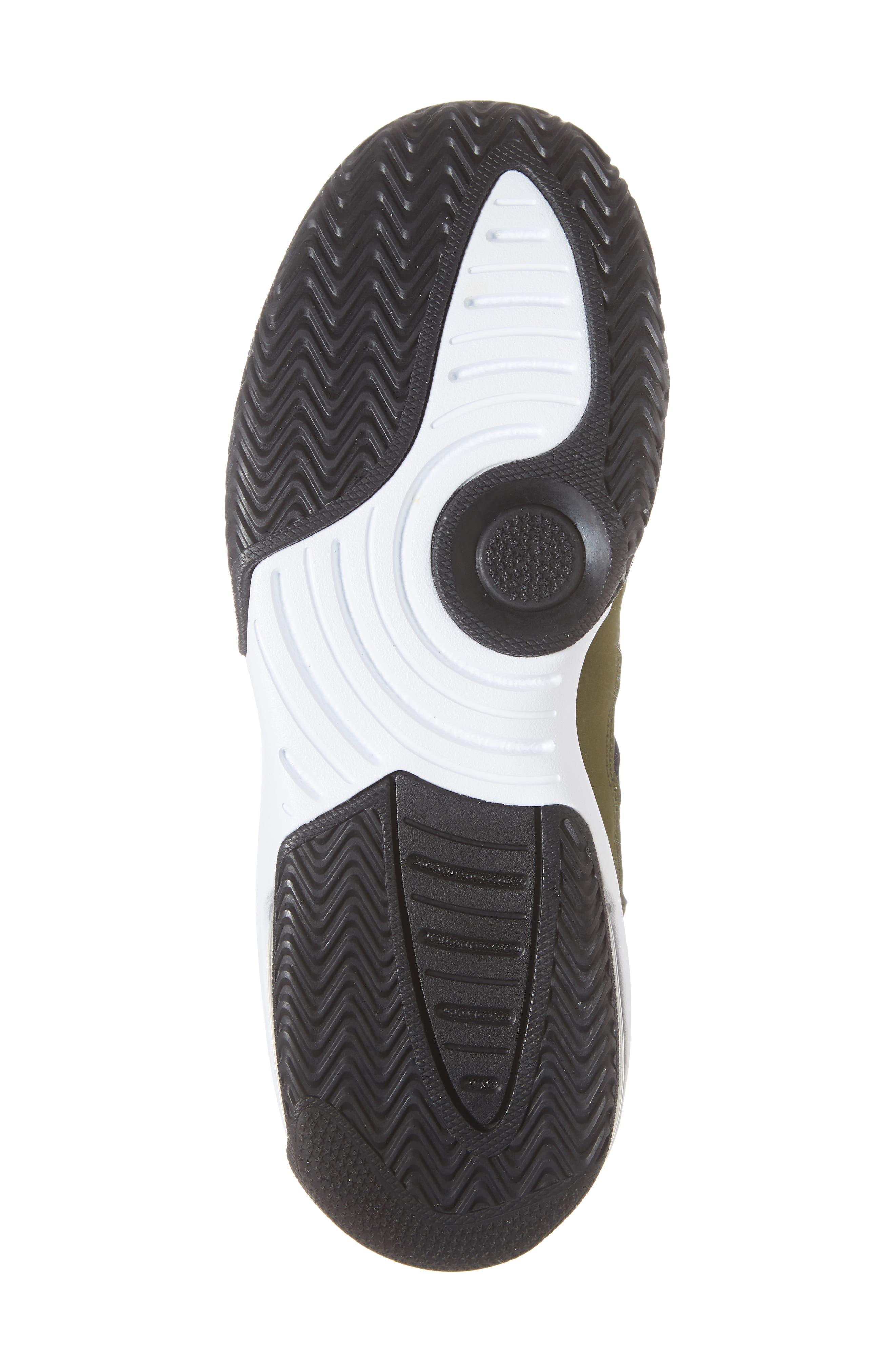 Jordan Max Aura Basketball Shoe,                             Alternate thumbnail 6, color,                             OLIVE CANVAS/ BLACK/ WHITE