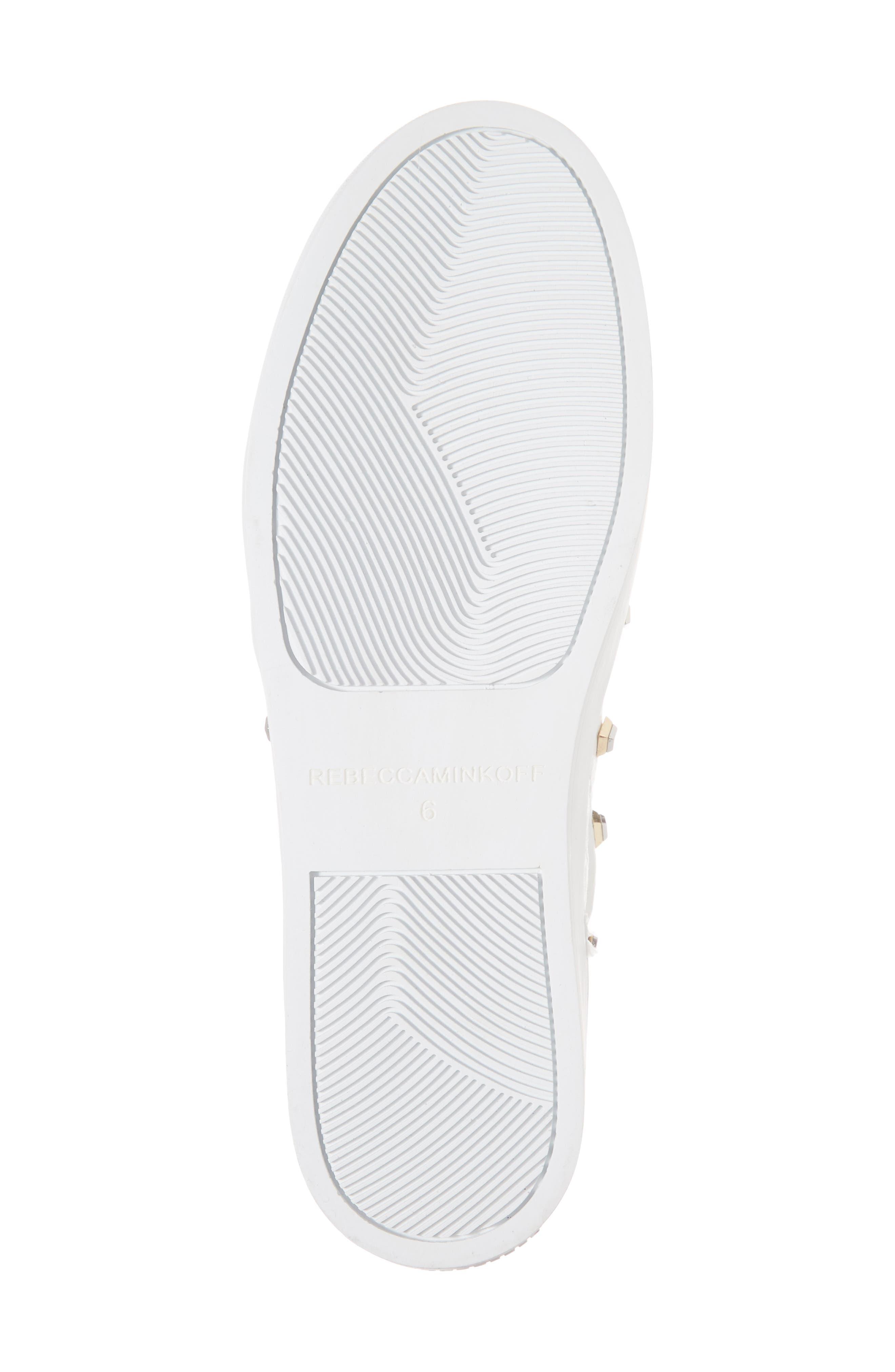 Nora Stud Platform Sneaker,                             Alternate thumbnail 12, color,