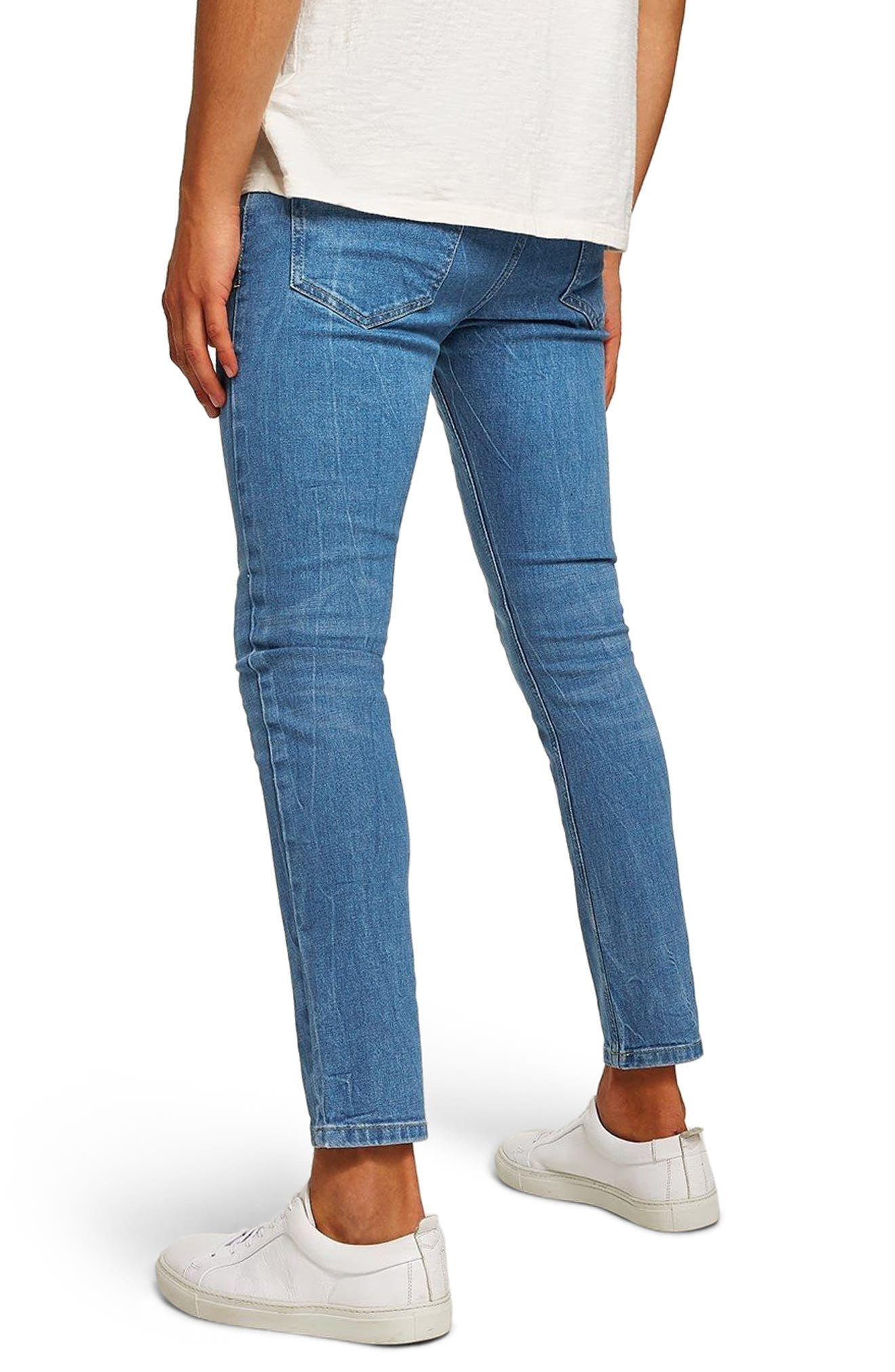 Stretch Slim Fit Jeans,                             Alternate thumbnail 2, color,                             400