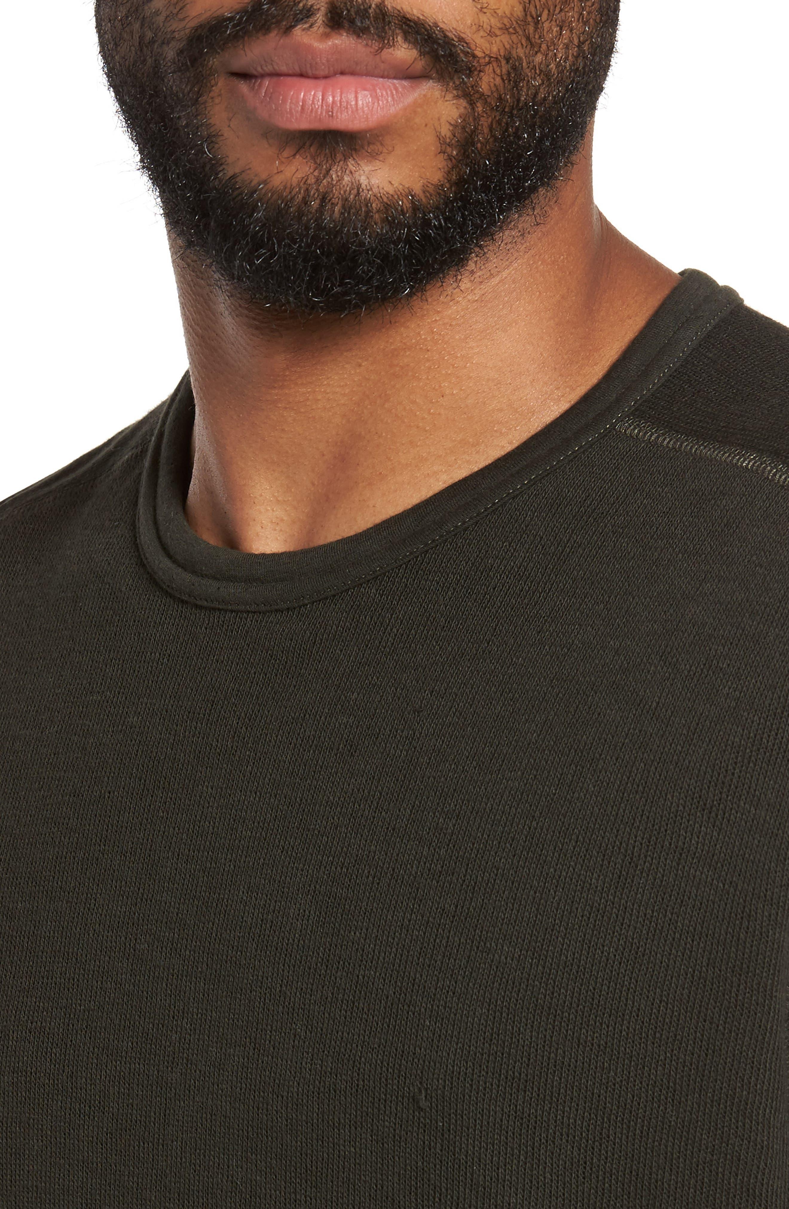 Double Knit Long Sleeve T-Shirt,                             Alternate thumbnail 19, color,