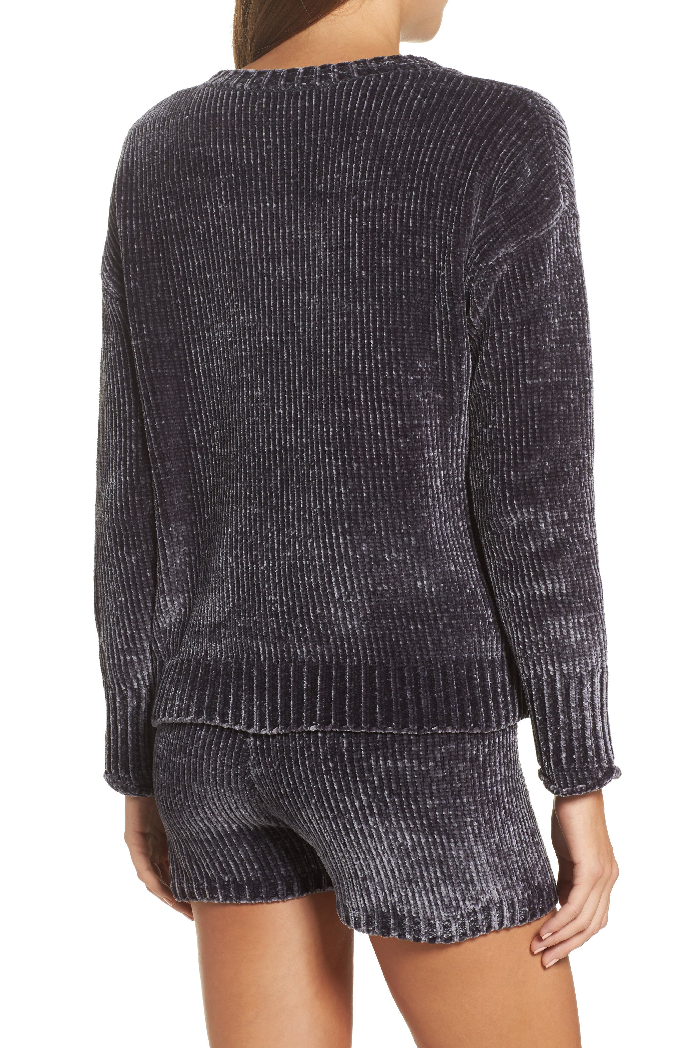 Chenille Sweater,                             Alternate thumbnail 2, color,                             030