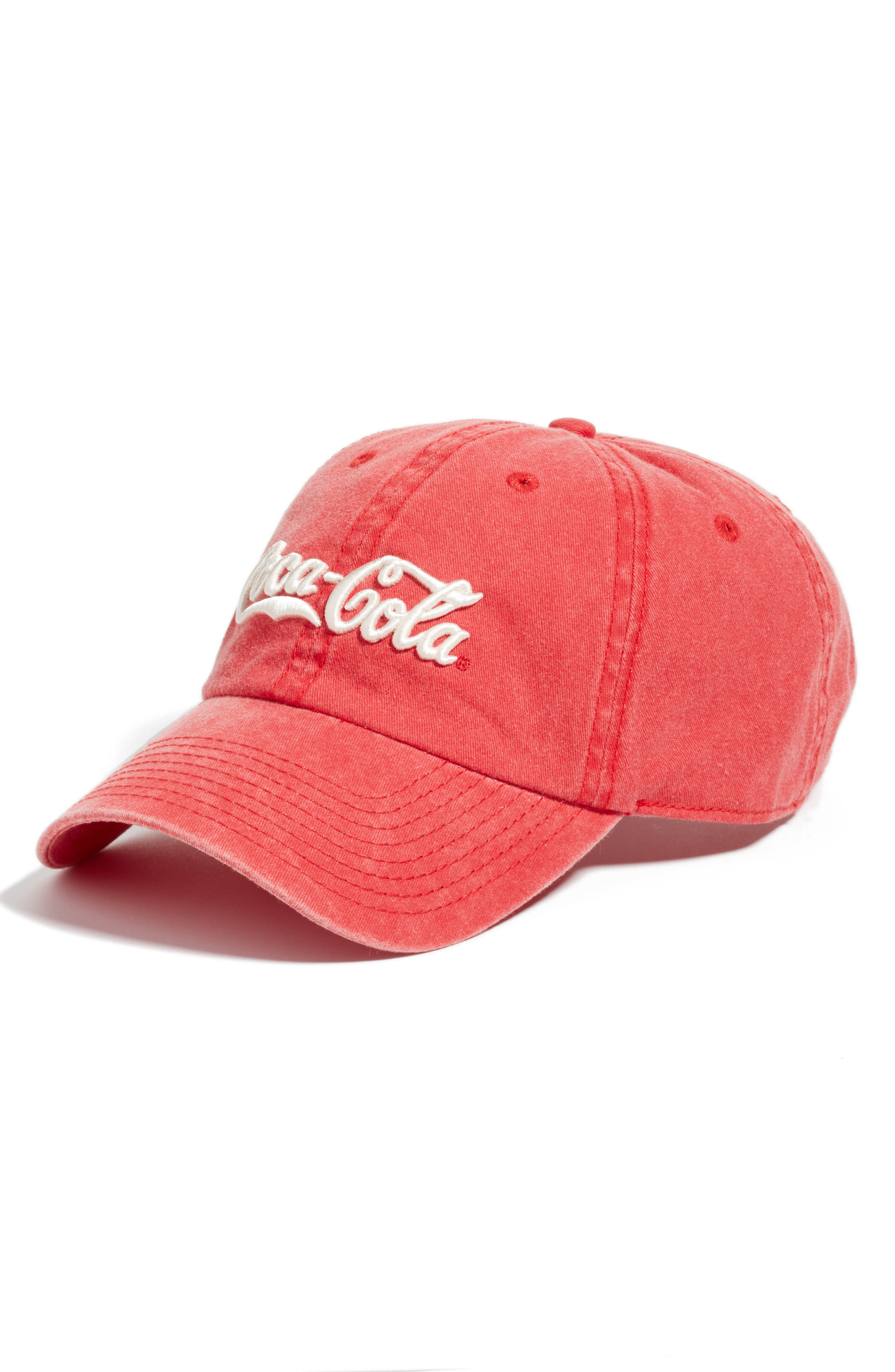 New Raglan - Coca-Cola Baseball Cap,                             Main thumbnail 2, color,