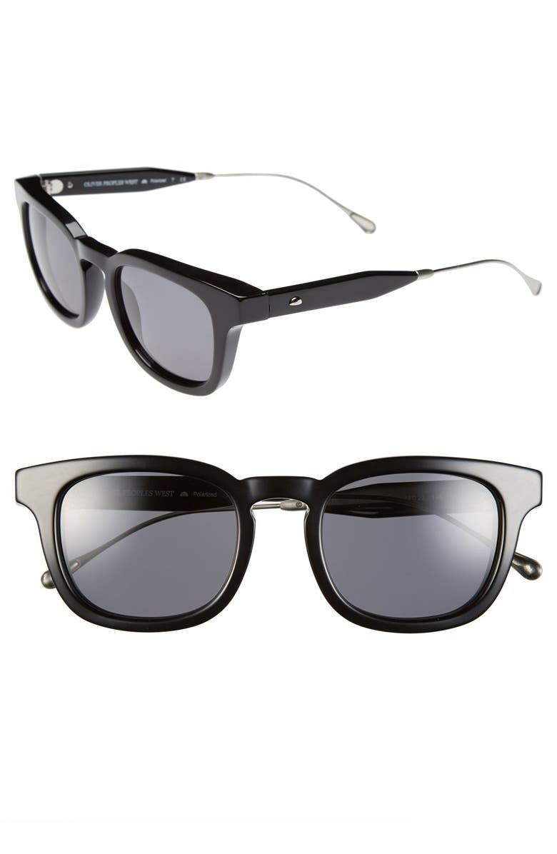 9898631476 Oliver Peoples West  Cabrillo  49mm Polarized Sunglasses