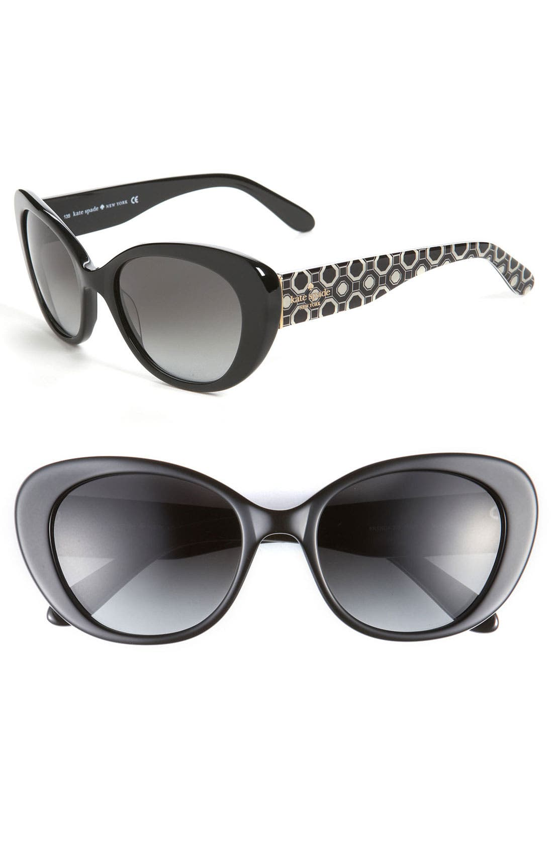 'franca 2' retro sunglasses,                             Main thumbnail 2, color,