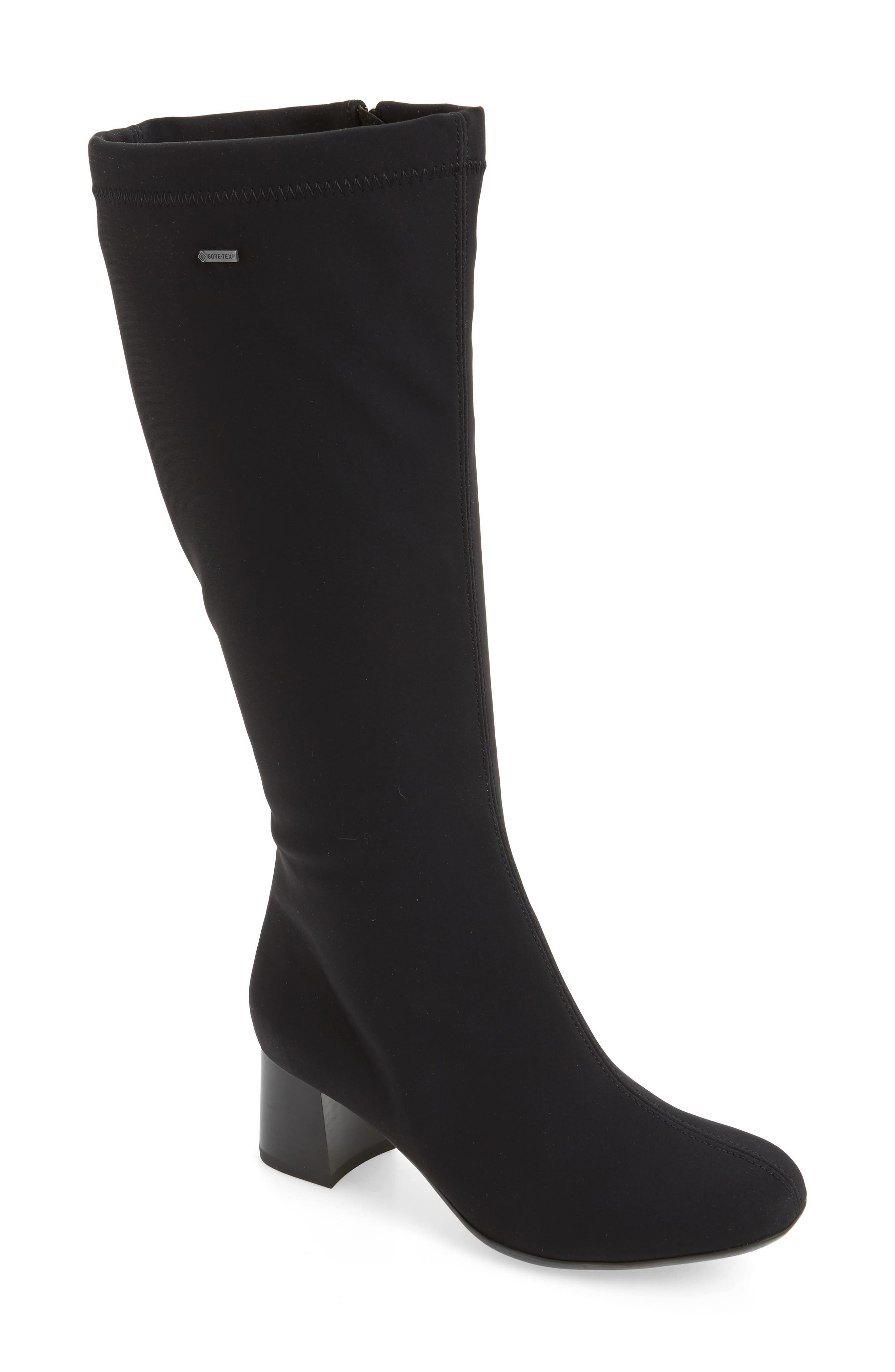 Clarissa Waterproof Gore-Tex<sup>®</sup> Tall Boot,                             Main thumbnail 1, color,                             001