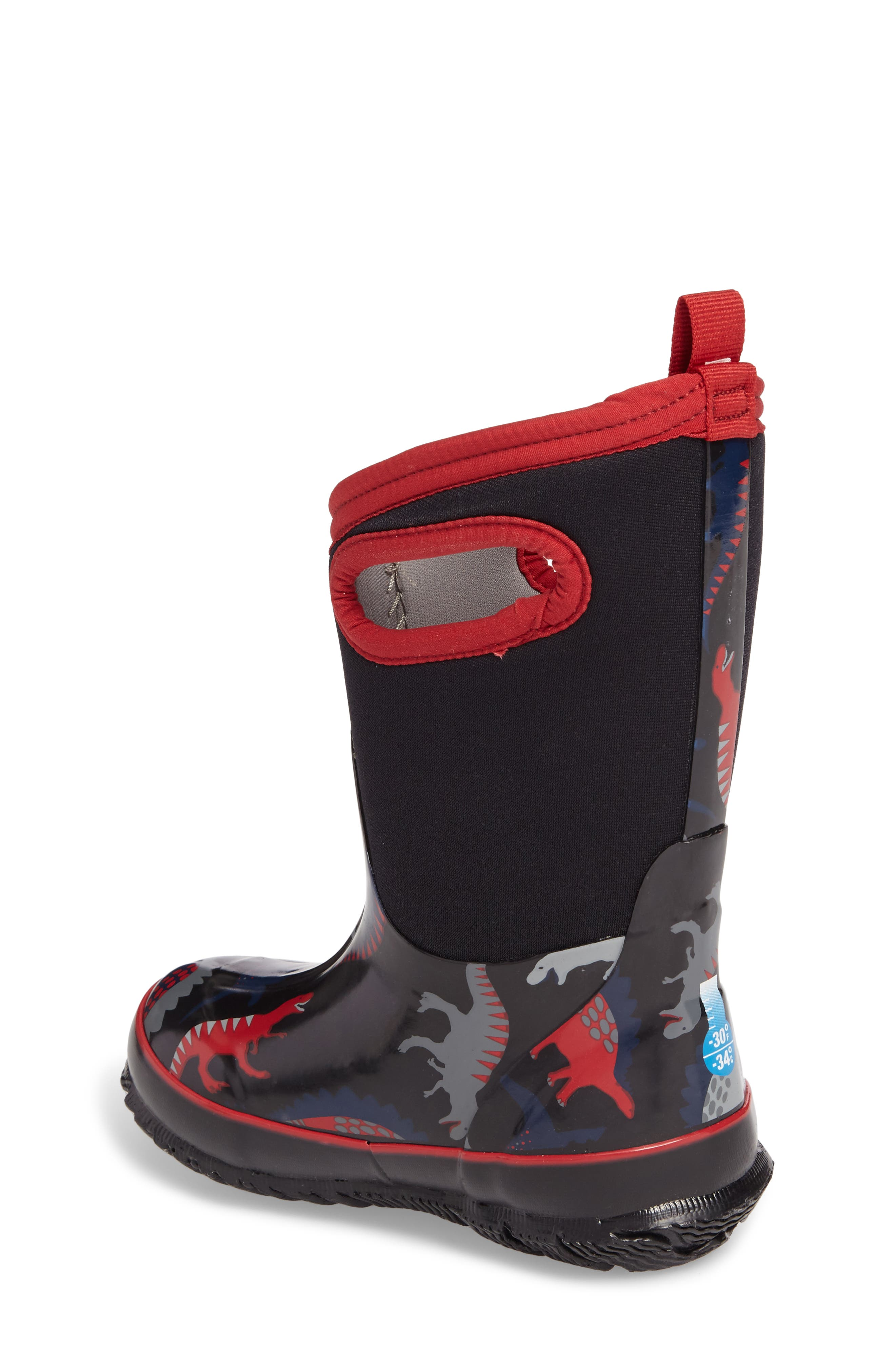 Classic Dino Insulated Waterproof Boot,                             Alternate thumbnail 4, color,
