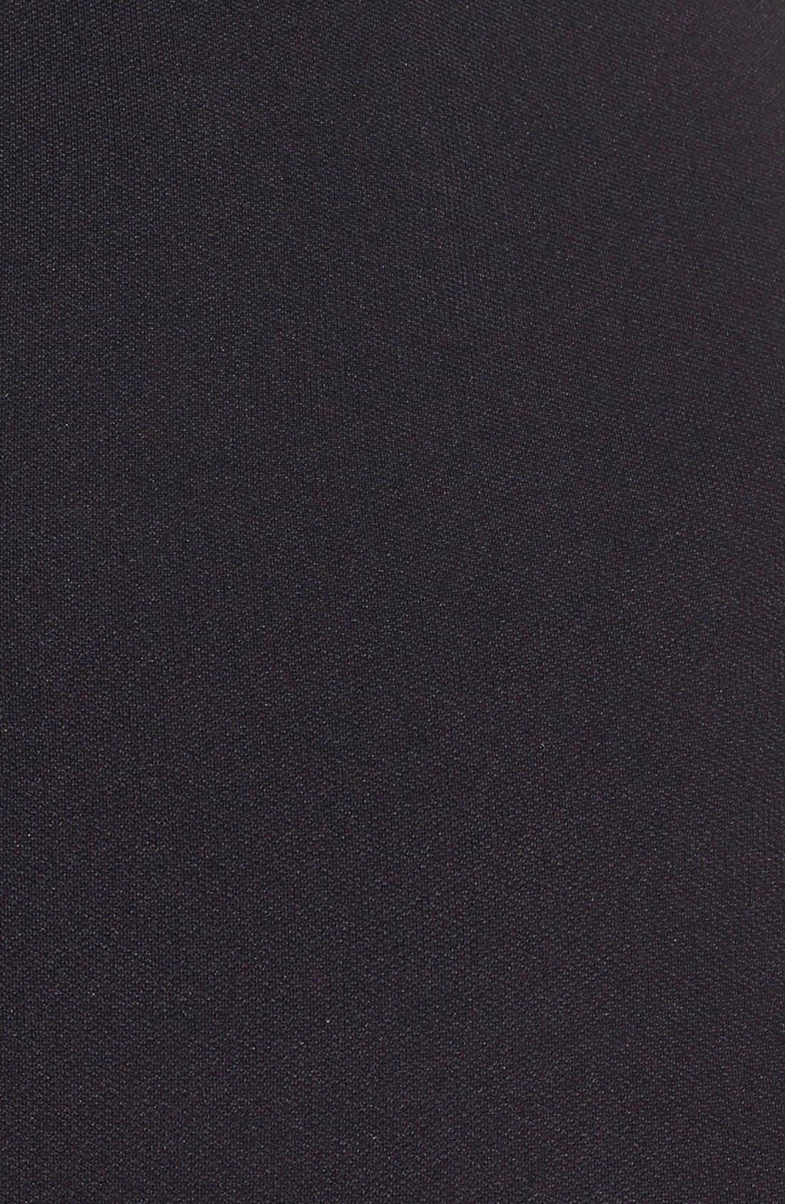 Shorty Shaping Shorts,                             Alternate thumbnail 3, color,                             BLACK