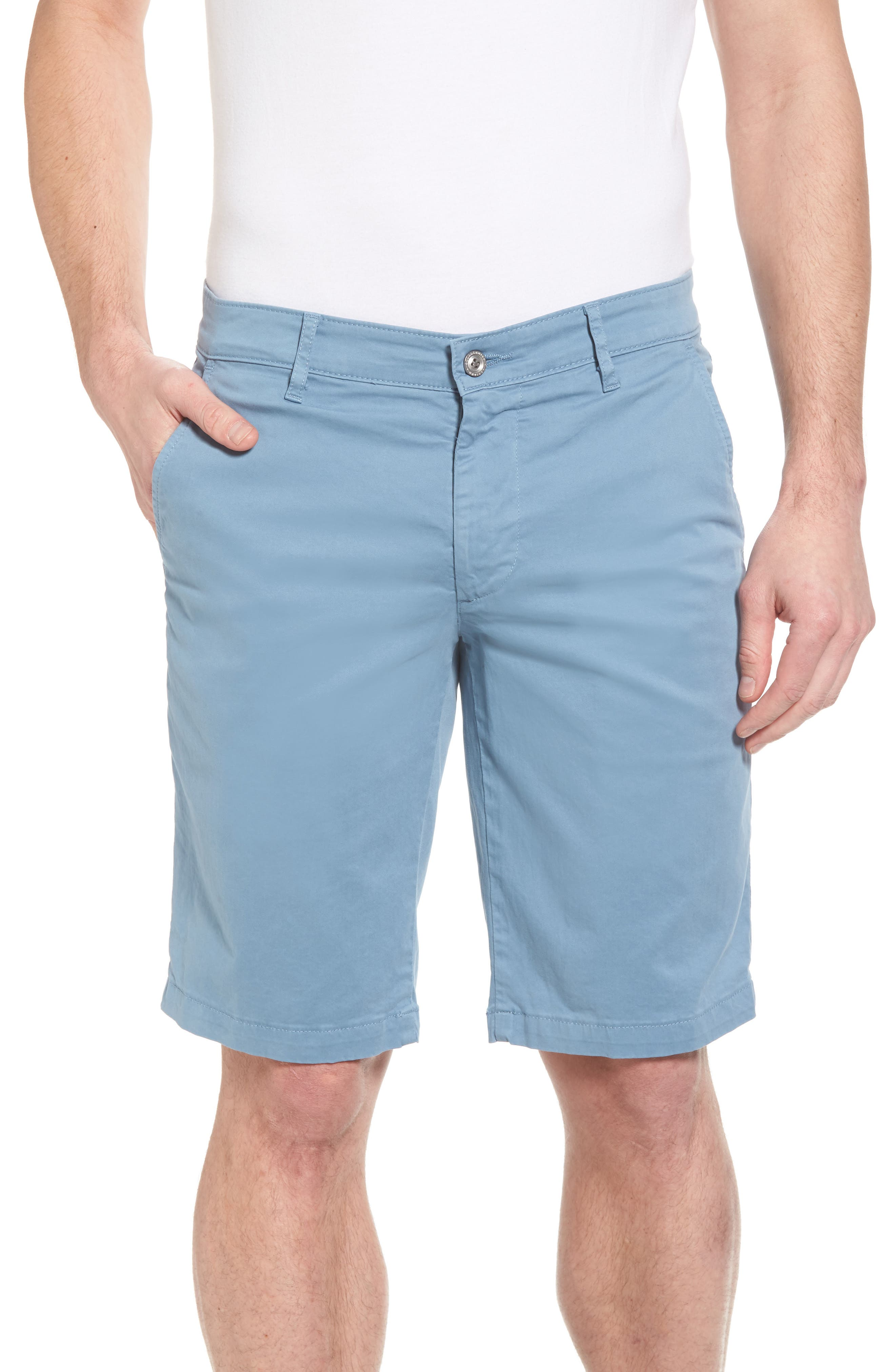 'Griffin' Chino Shorts,                         Main,                         color, HIGH TIDE