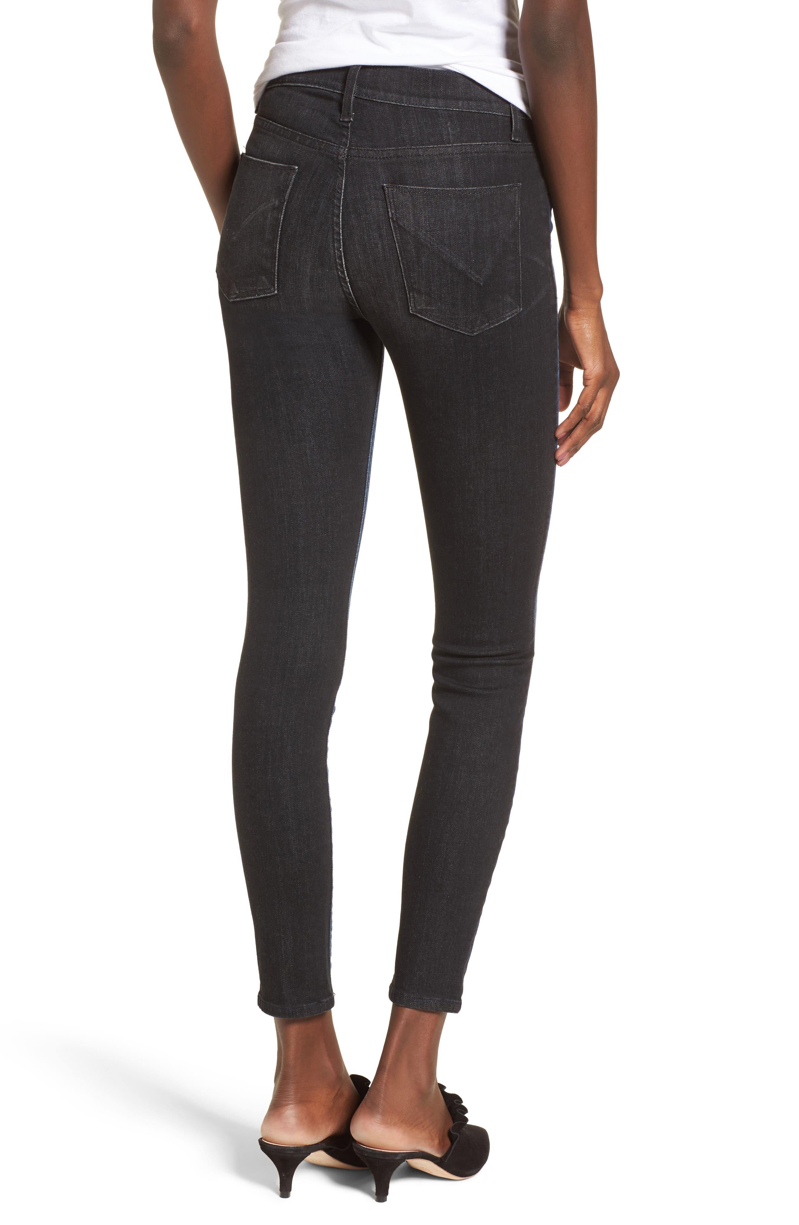 Barbara High Waist Ankle Skinny Jeans,                             Alternate thumbnail 2, color,                             006
