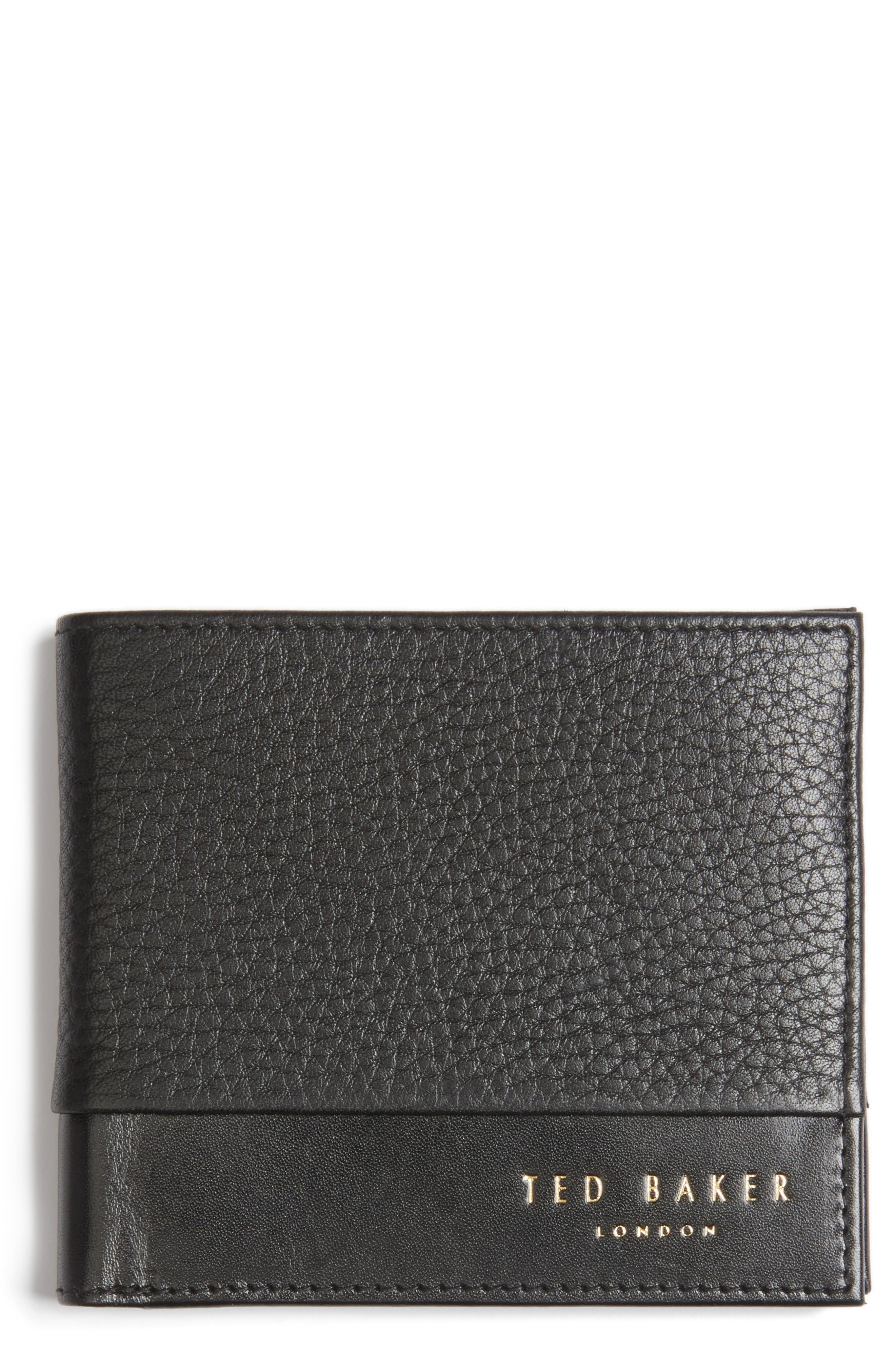 Mixdup Leather Wallet,                             Main thumbnail 1, color,