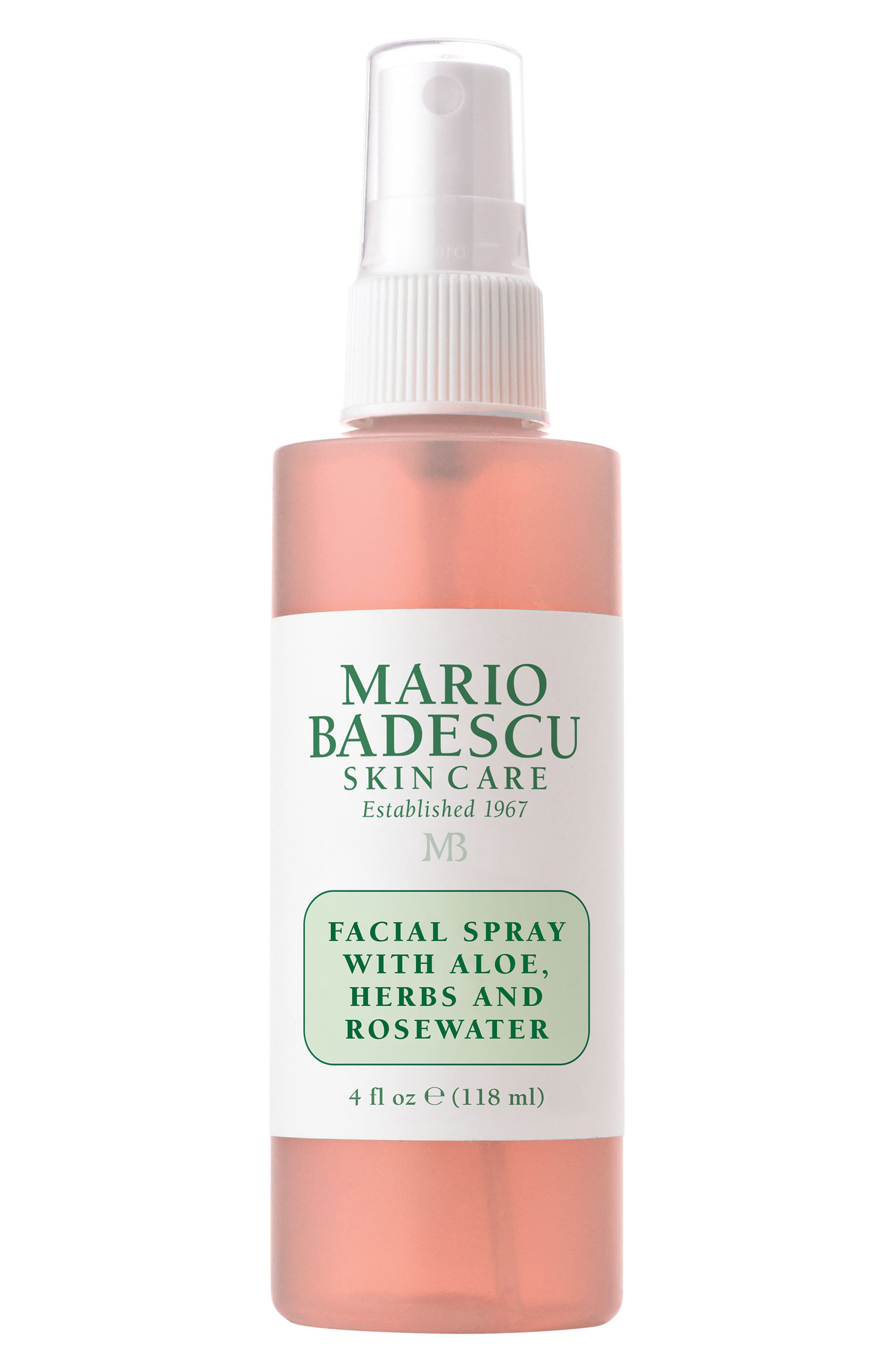 Facial Spray with Aloe, Herbs & Rosewater,                             Alternate thumbnail 2, color,                             NO COLOR