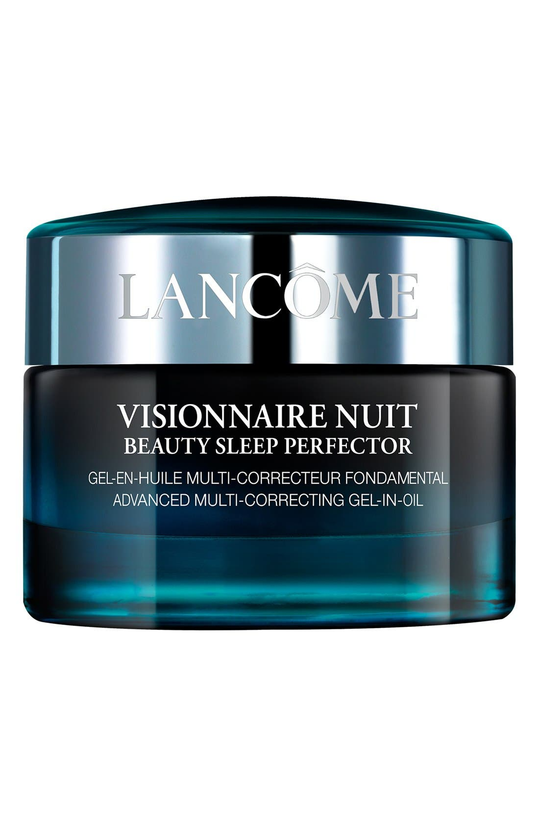 LANCÔME,                             Visionnaire Nuit Beauty Sleep Night Moisturizer Cream,                             Main thumbnail 1, color,                             NO COLOR