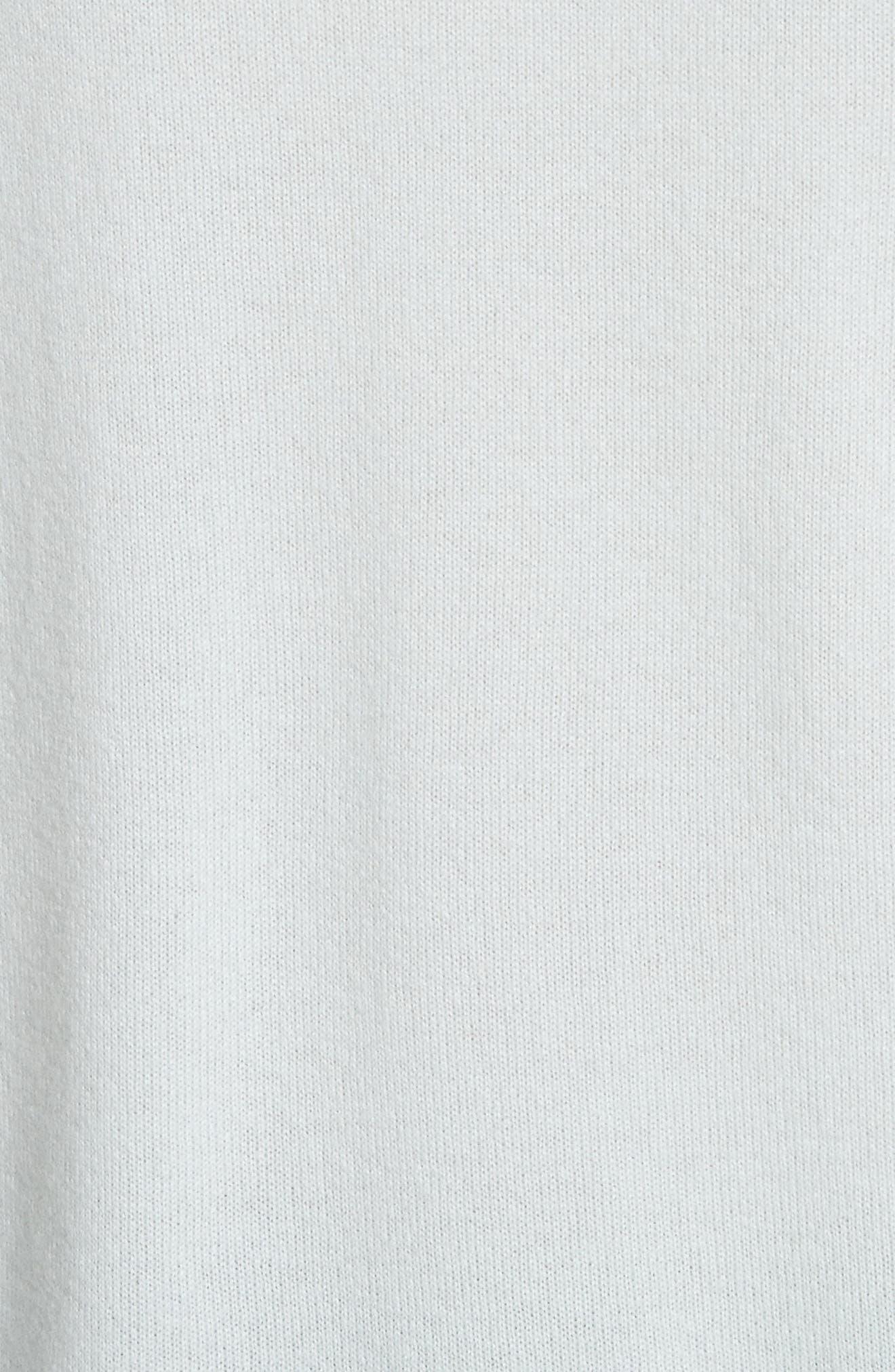 V-Neck Cashmere Sweater,                             Alternate thumbnail 9, color,