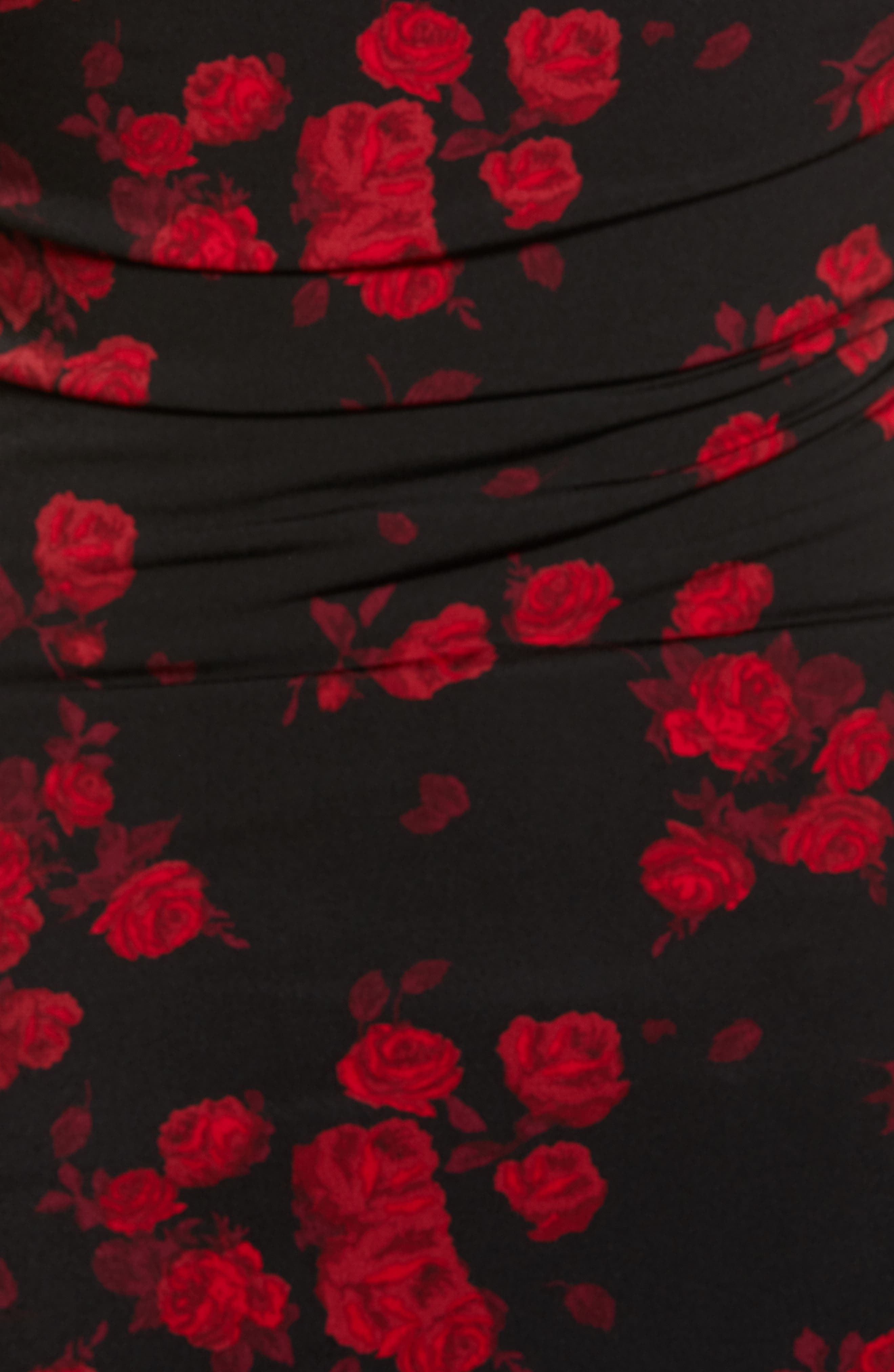 Off the Shoulder Rose Top,                             Alternate thumbnail 5, color,                             600