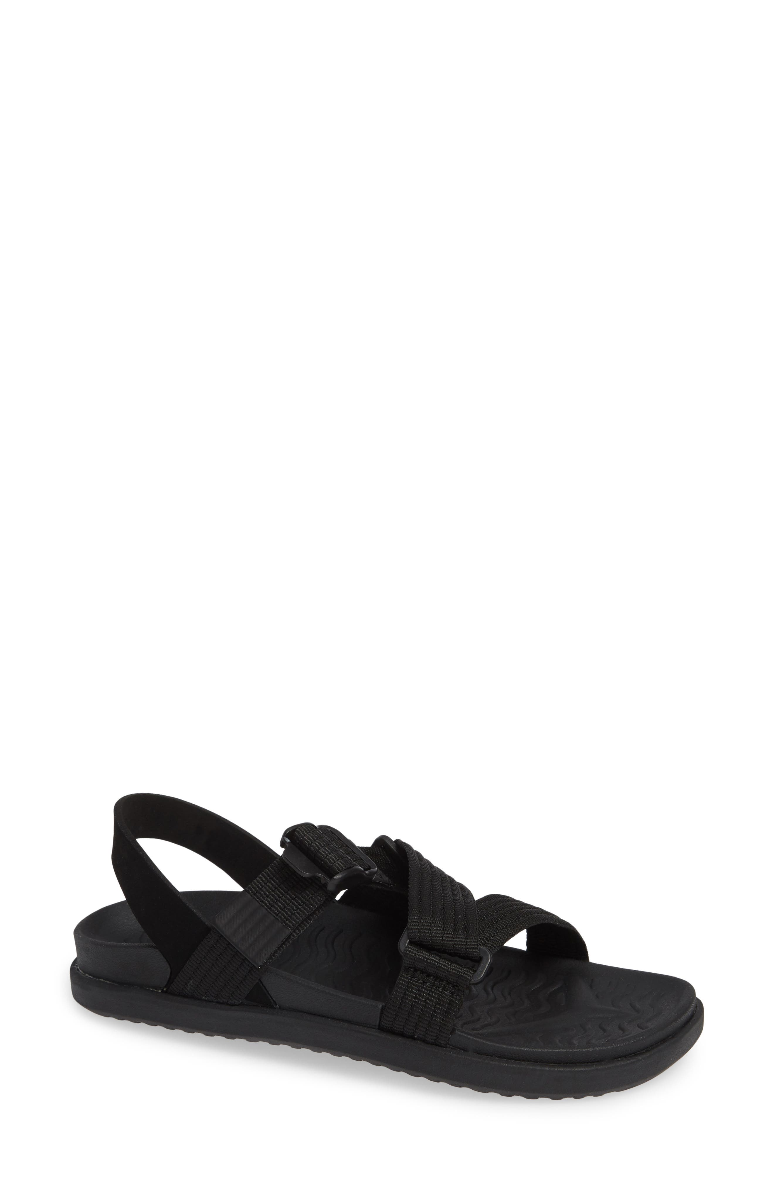 Native Shoes Zurich Vegan Sandal, Black